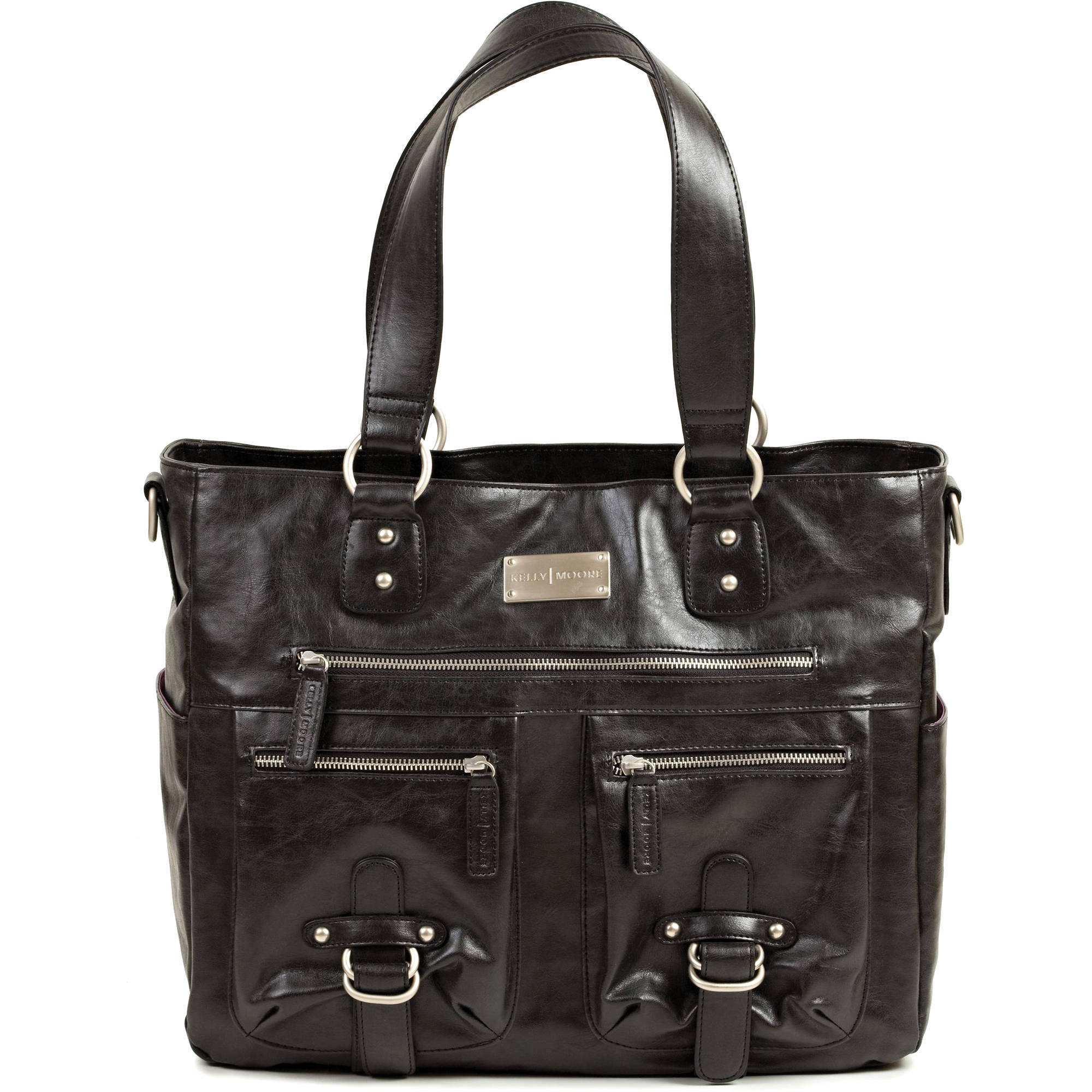 kelly moore bag libby shoulder bag black kmb libby blk b h. Black Bedroom Furniture Sets. Home Design Ideas
