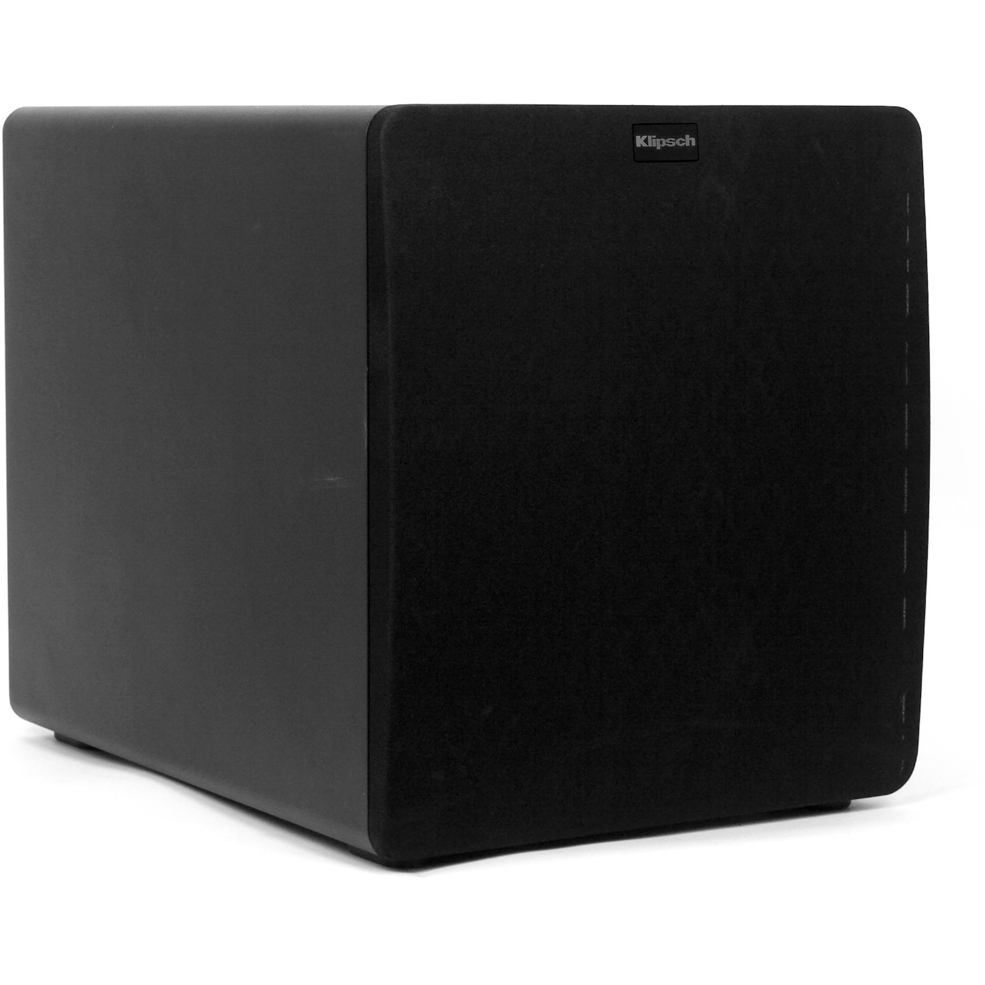 klipsch sw 112 subwoofer 1011470 b h photo video. Black Bedroom Furniture Sets. Home Design Ideas