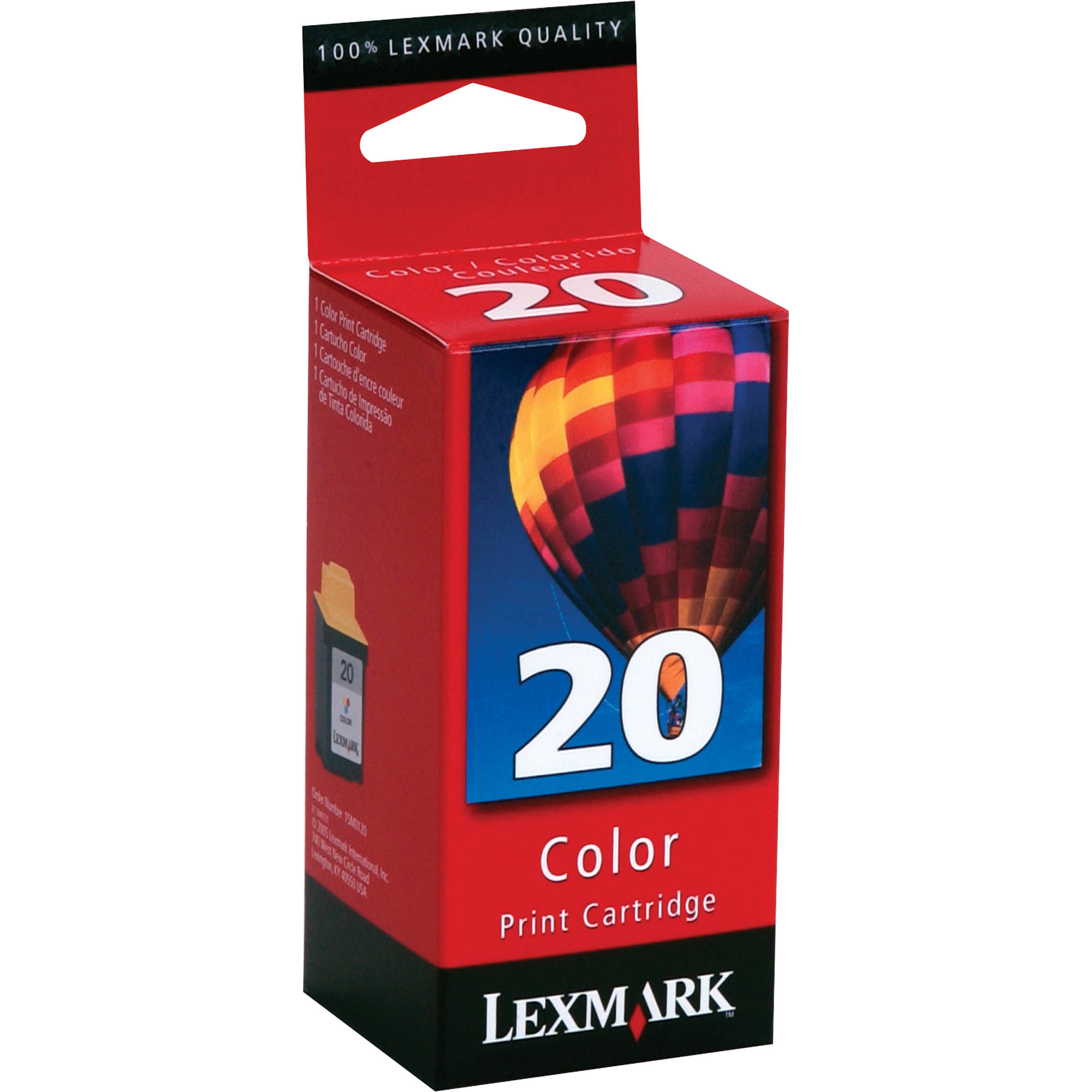 Lexmark 15M0120 20 Color Ink Cartridge