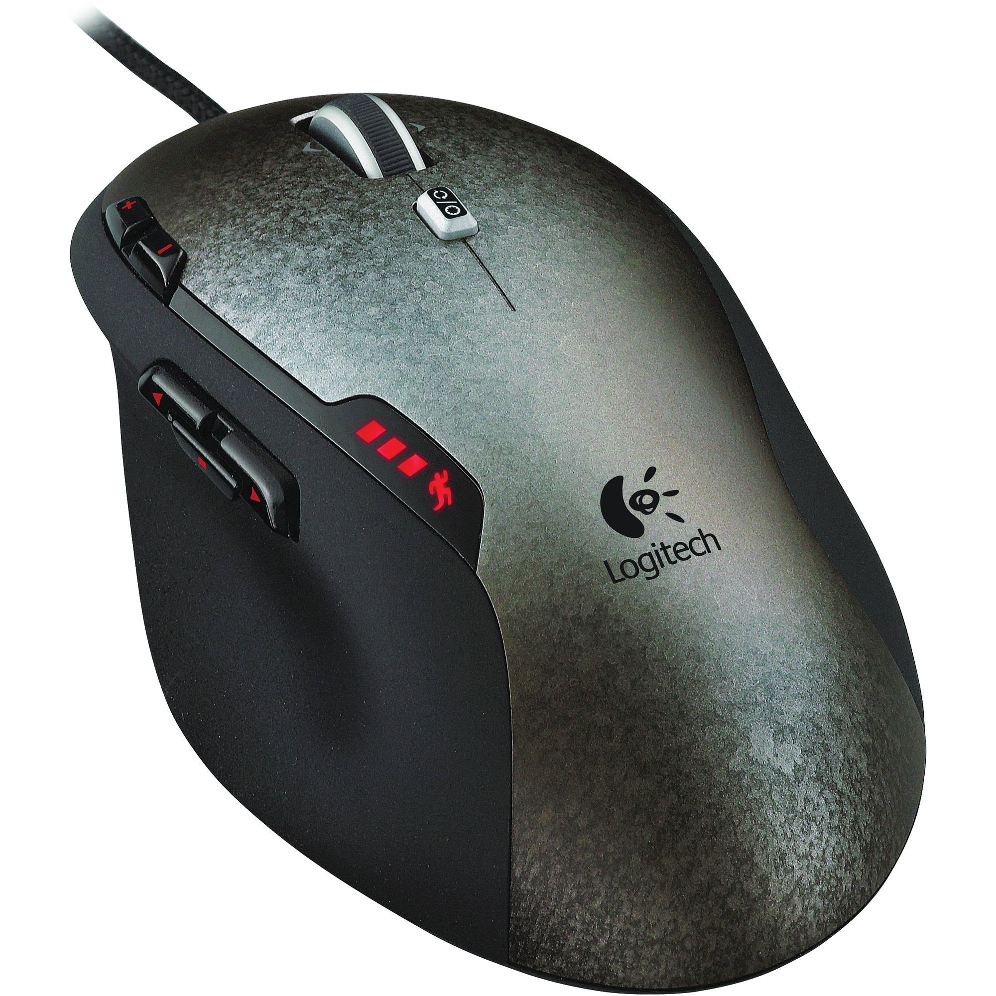 Logitech Gaming Mouse G500 910-001259 B&H Photo Video