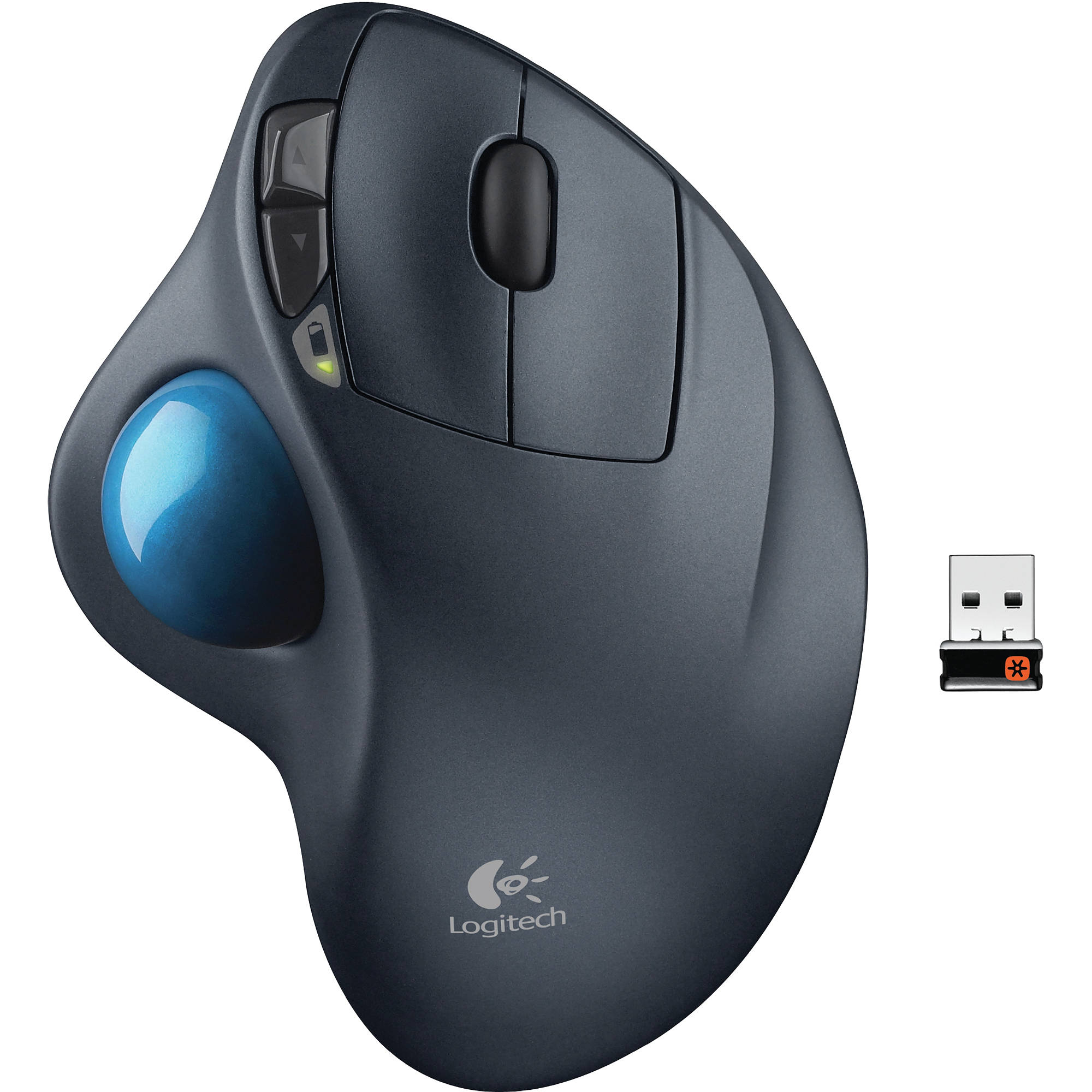 1c88d637957 Logitech M570 Laser Wireless Trackball 910-001799 B&H Photo Video