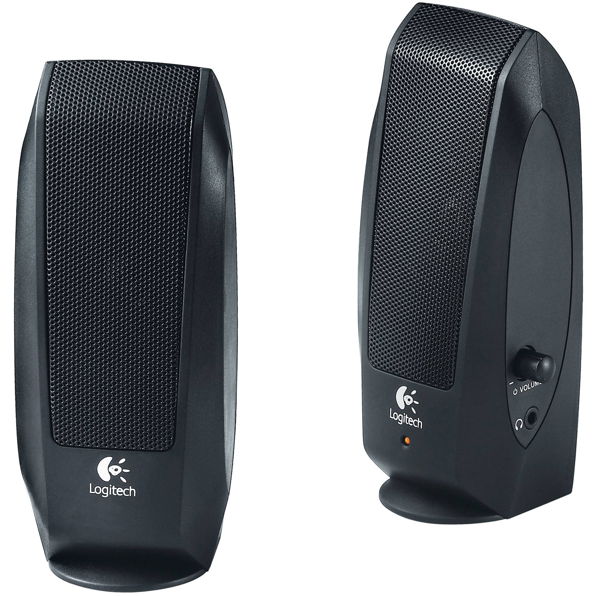 logitech s 120 speaker system 980 000012 b h photo video. Black Bedroom Furniture Sets. Home Design Ideas
