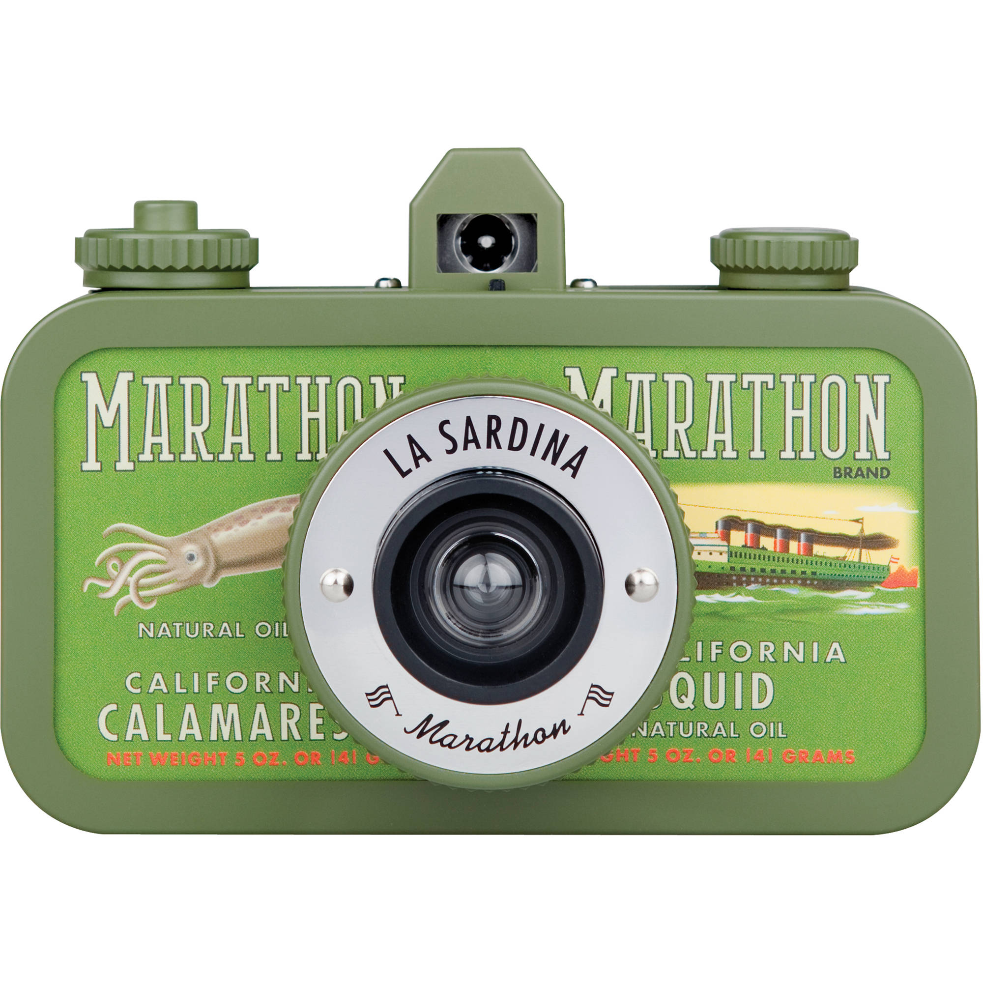 Kamera Lomo La Sardina Fotodiox Diy Camera Twin Lens Reflex Tlr Kit Lomography Marathon 300 B H Photo