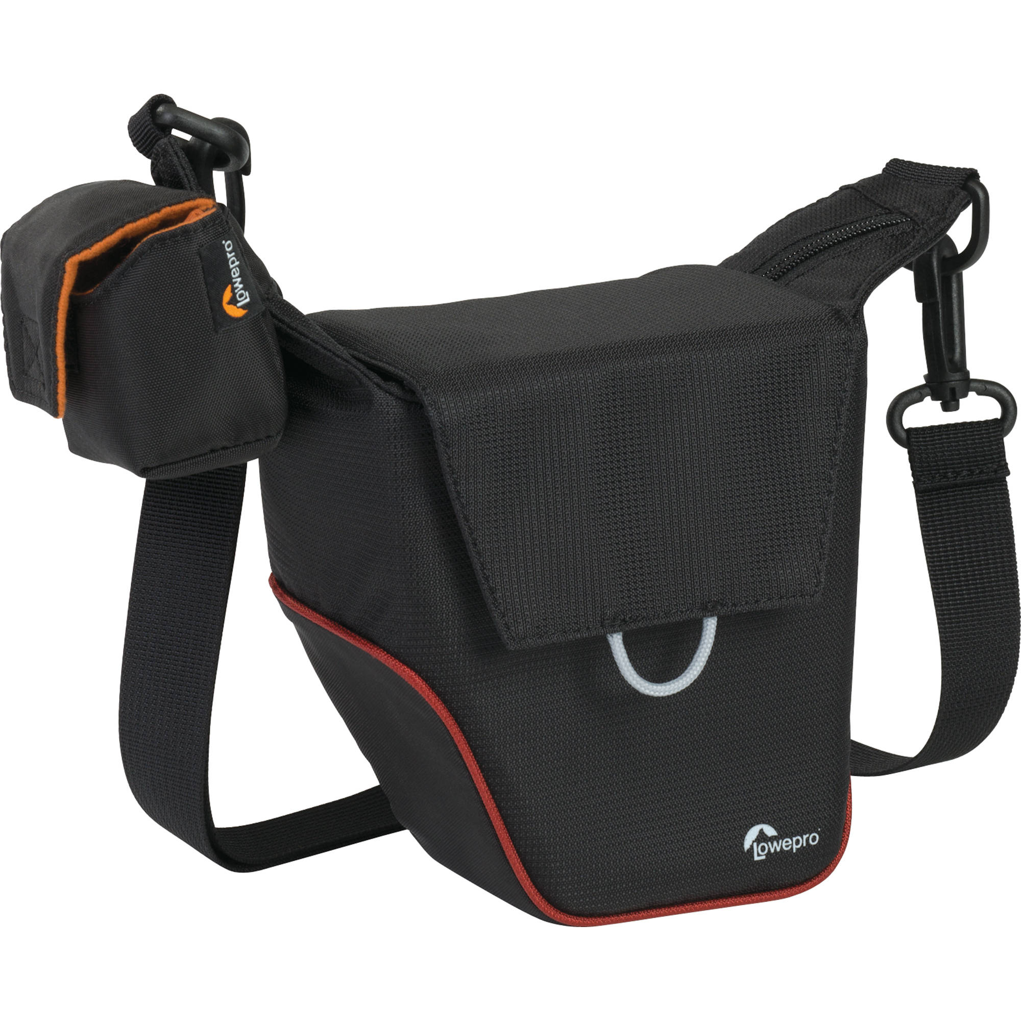 ffada8391e Lowepro Compact Courier 70 Shoulder Bag (Black with Red Piping)
