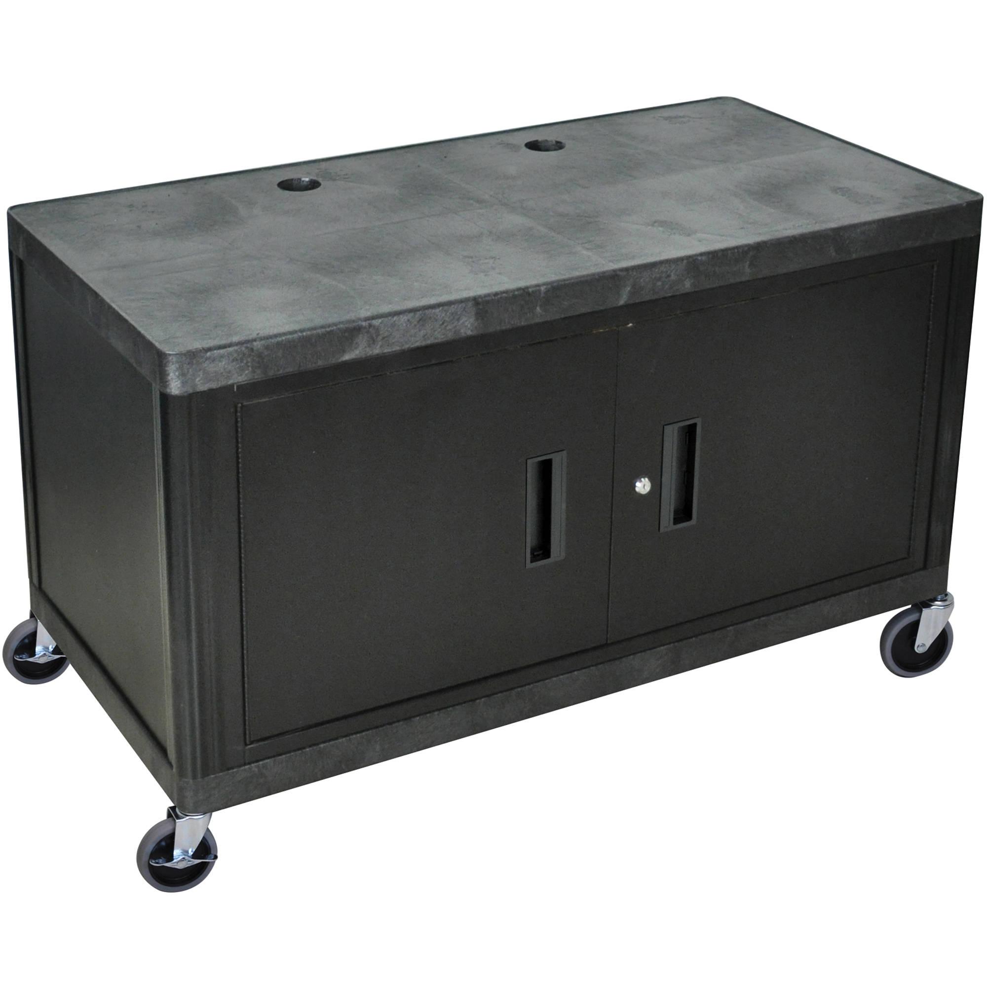 Luxor Kitchen Cabinets: Luxor 2-Shelf Heavy-Duty Work Center With Cabinet, LEW29C