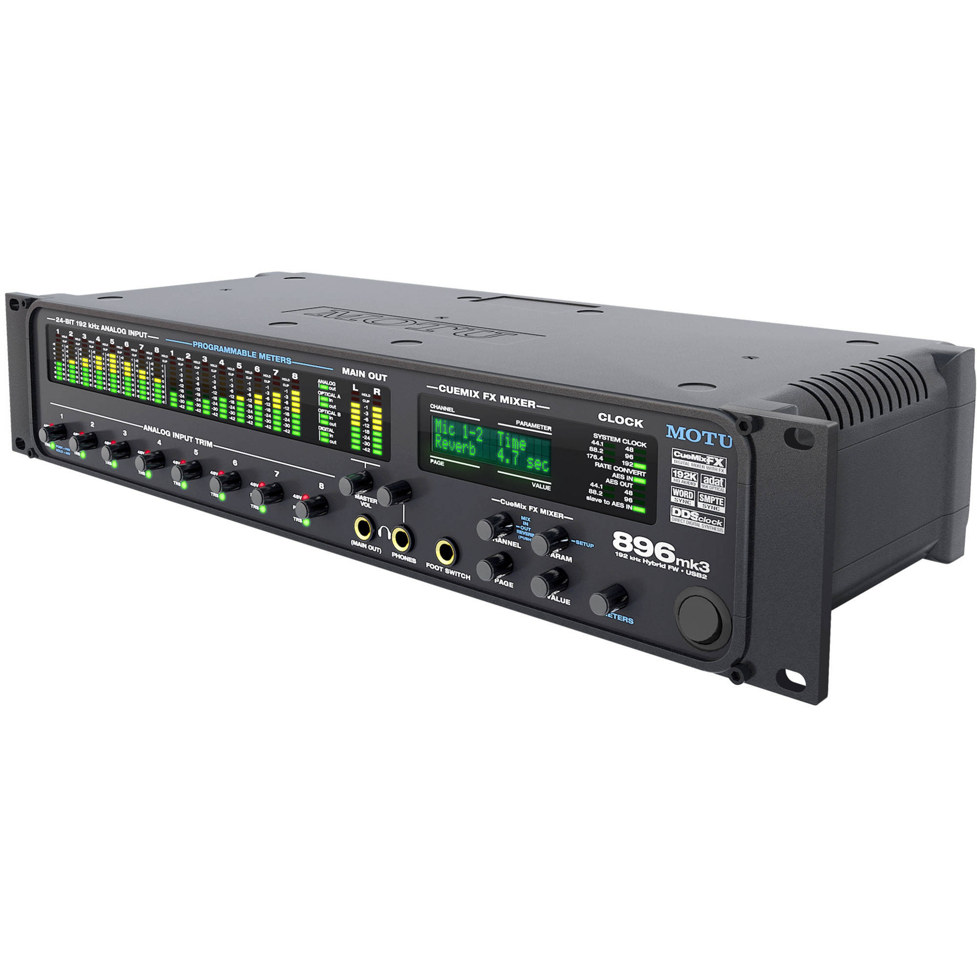 MOTU 896mk3 - FireWire/USB 2.0 Hybrid Audio Interface 4470 B&H