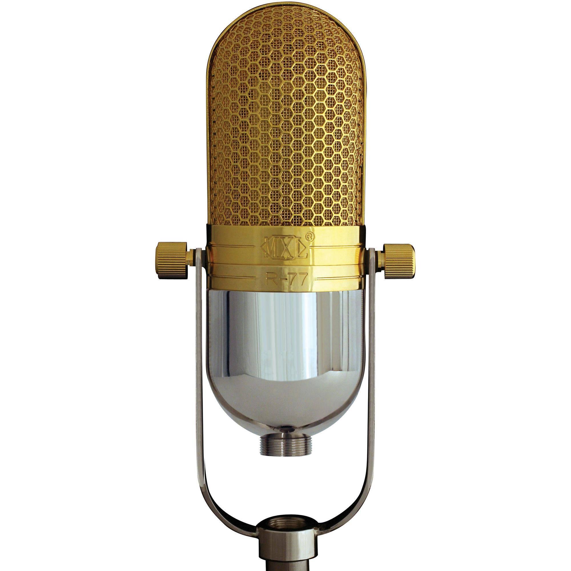 mxl r77l classic ribbon microphone  lundahl transformer  r77
