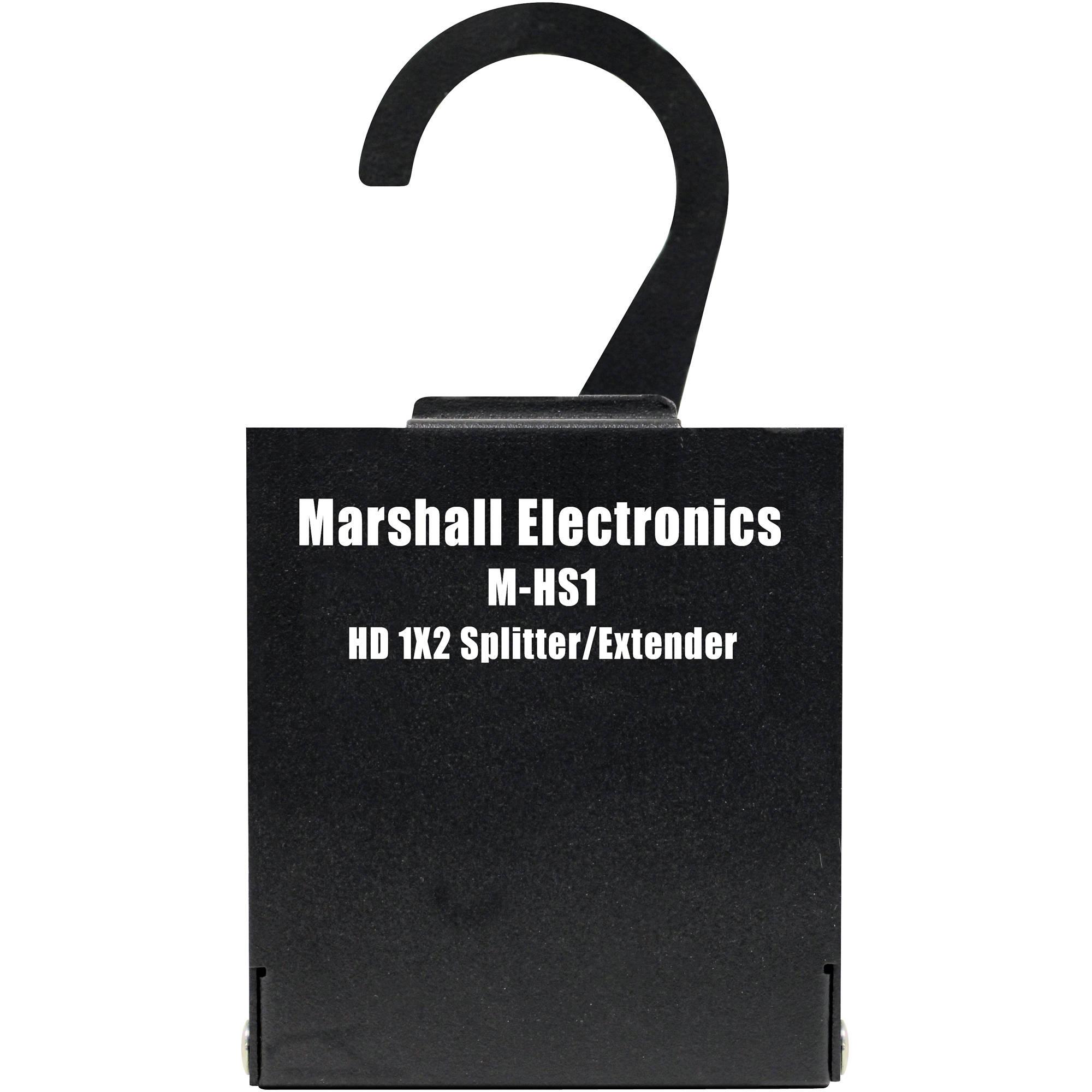 M Bel Marshall marshall electronics m hs1 hdmi 1x2 splitter extender m hs1