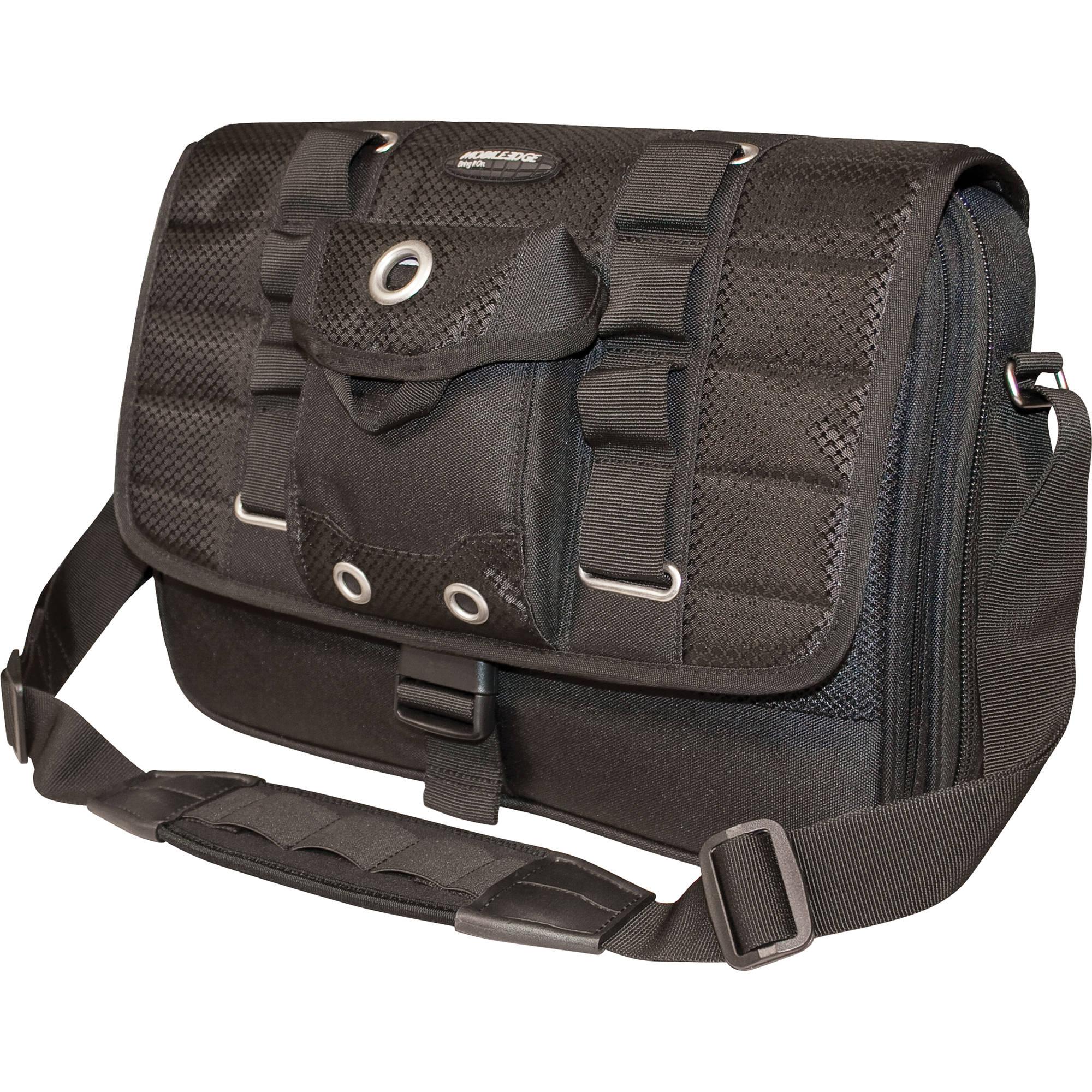 Mobile Edge Scanfast Netbook Messenger Bag Black