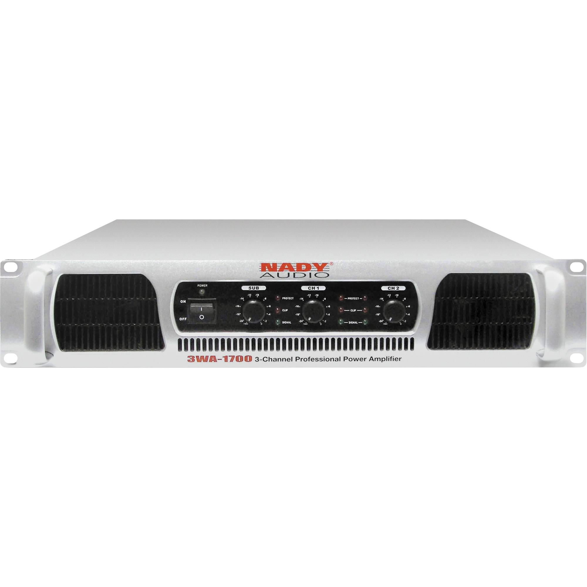 Nady 3wa  Channel Power Amplifier