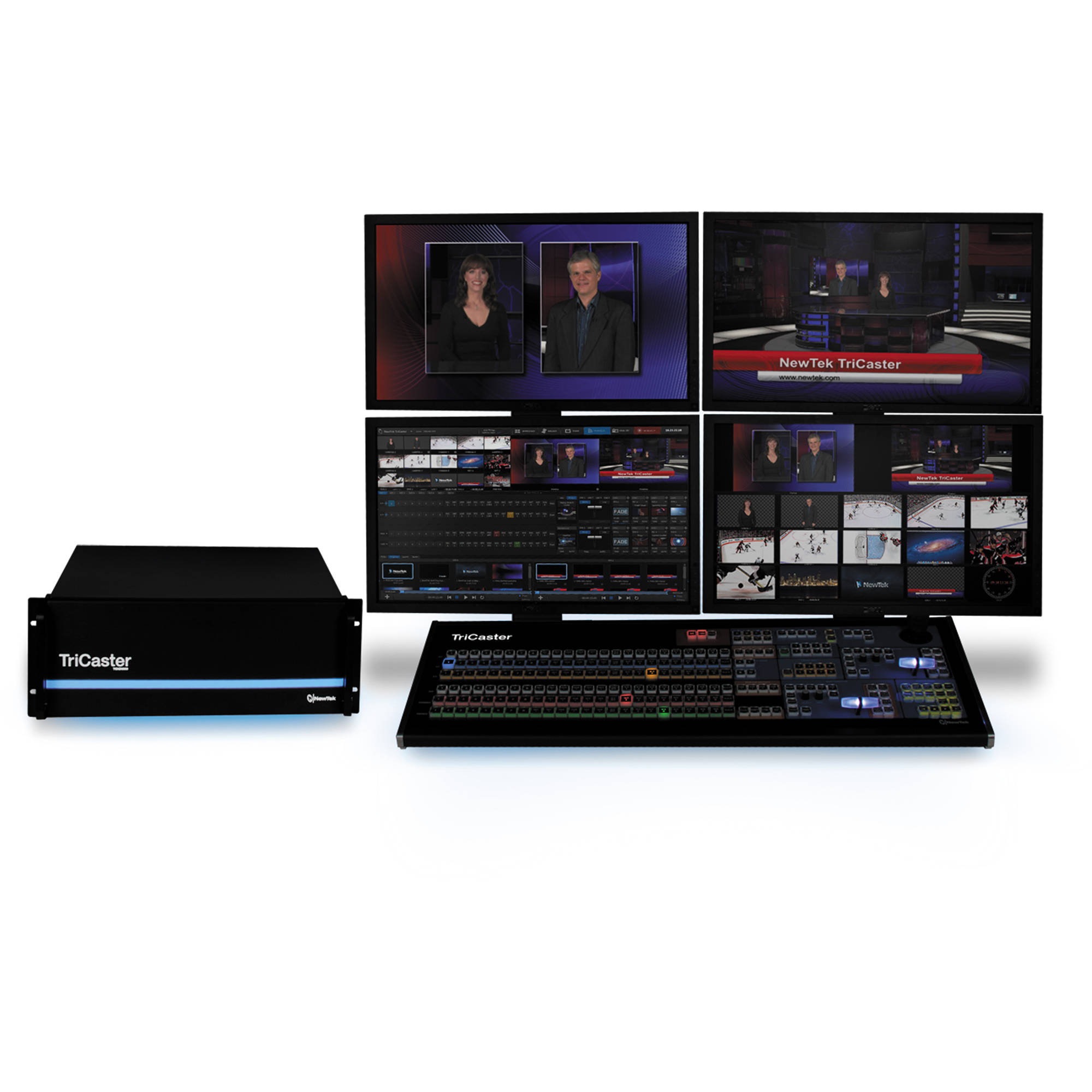 newtek tricaster 8000 fg 000036 r001 b h photo video rh bhphotovideo com  TriCaster Control Surface