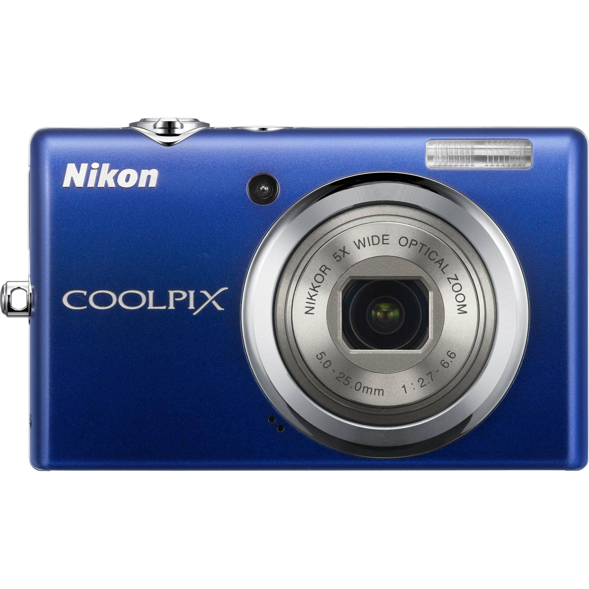 nikon coolpix s570 digital camera blue 26179 b h photo video rh bhphotovideo com