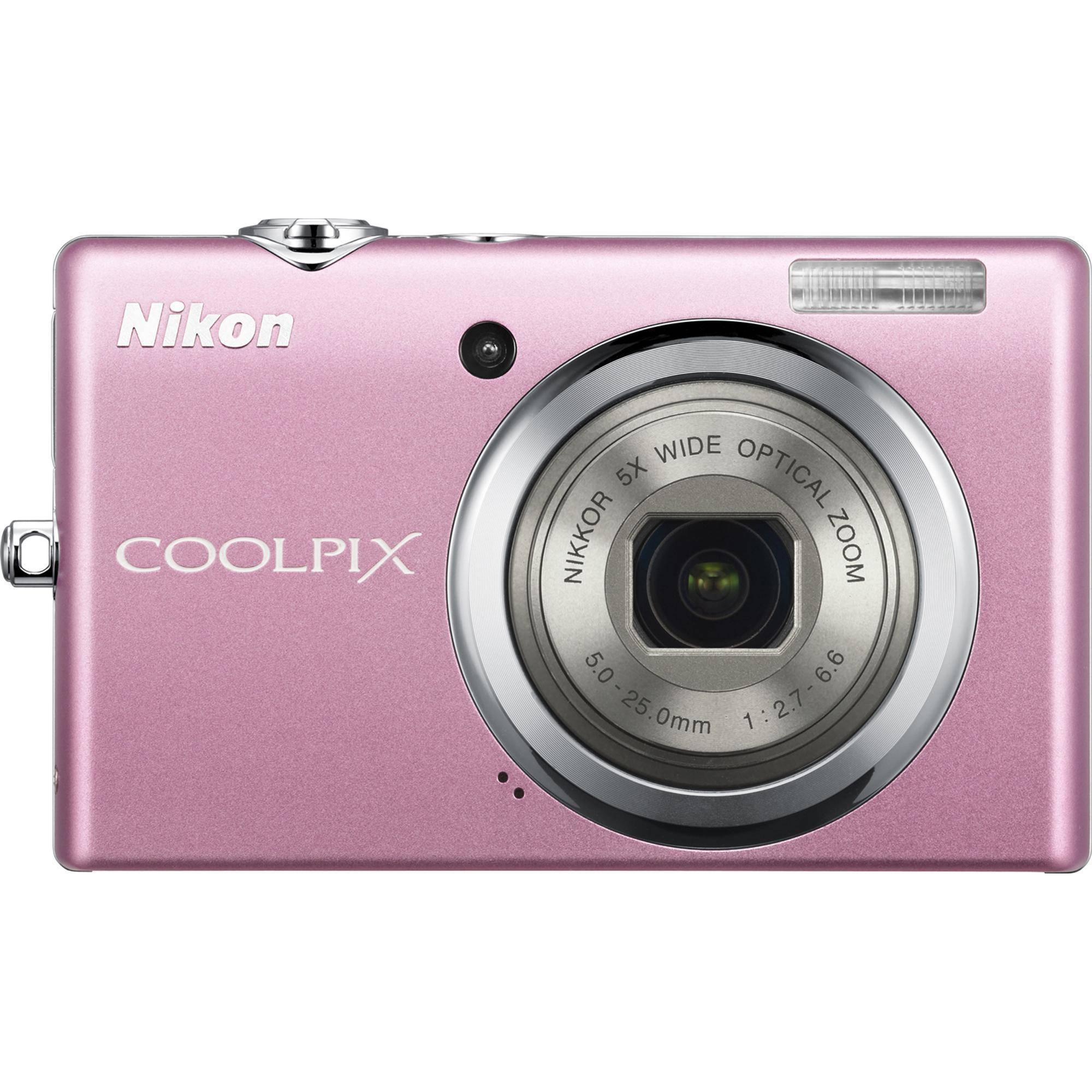 Nikon CoolPix S570 Digital Camera (Pink) 26181 B&H Photo Video