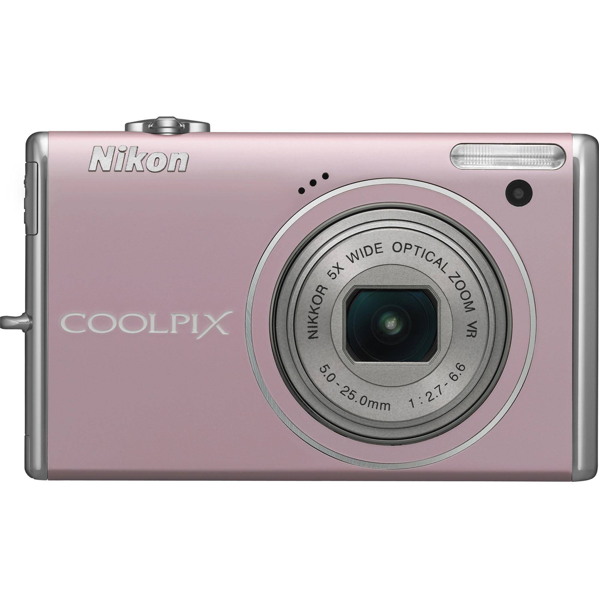 Nikon CoolPix S640 Digital Camera (Pink) 26185 B&H Photo Video