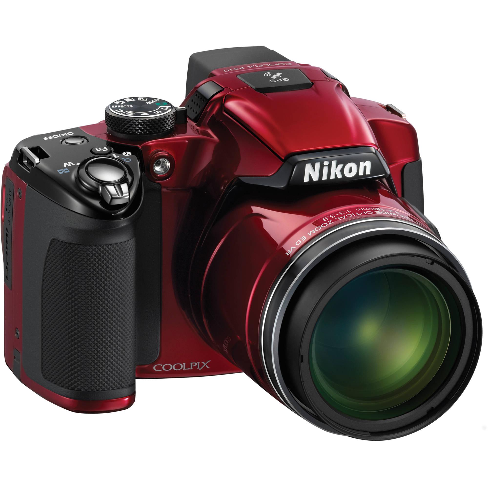 nikon coolpix p510 digital camera red 26330 b h photo video rh bhphotovideo com Nikon Coolpix P510 User Manual Nikon Coolpix P510 Camera