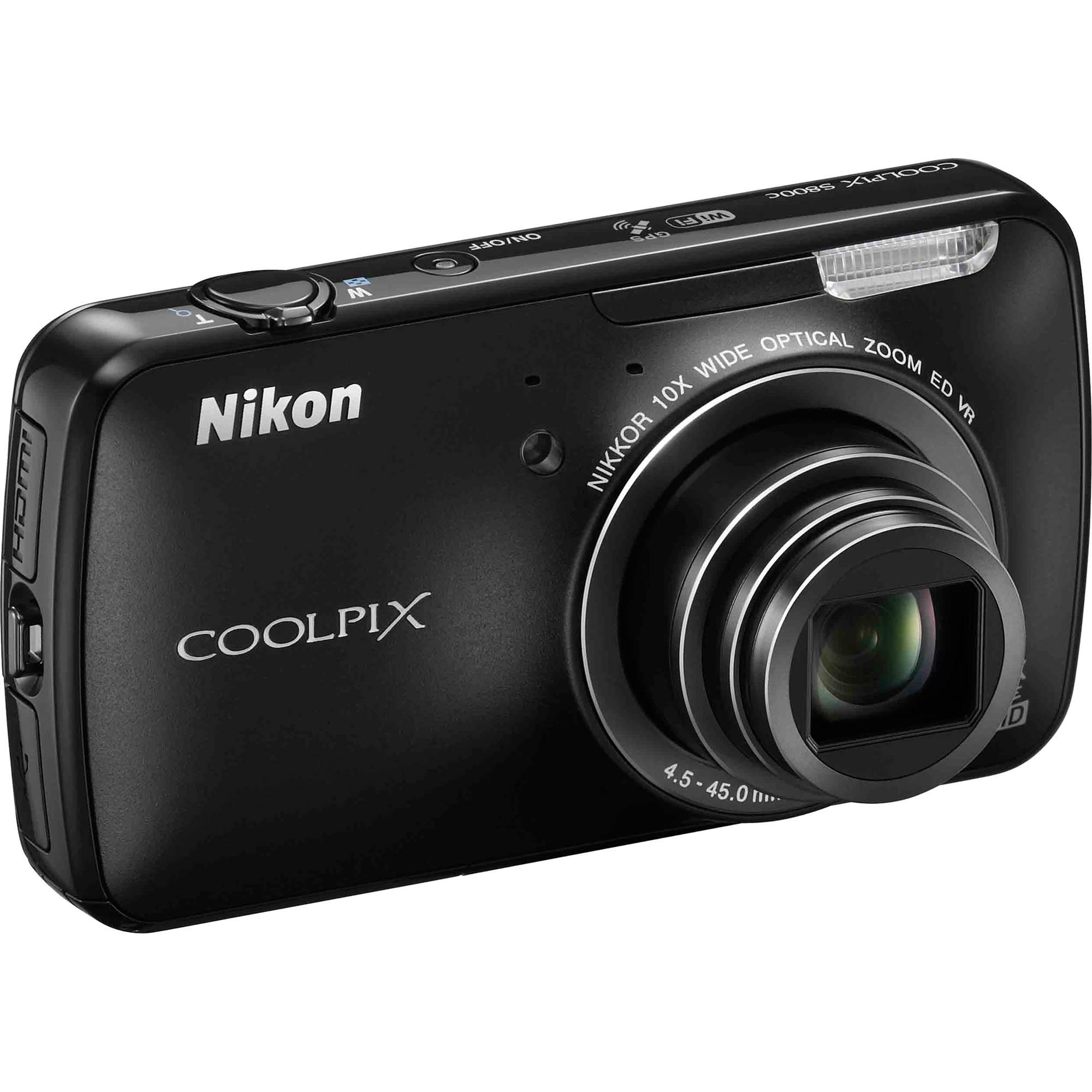 Nikon COOLPIX S800c Camera Descargar Controlador