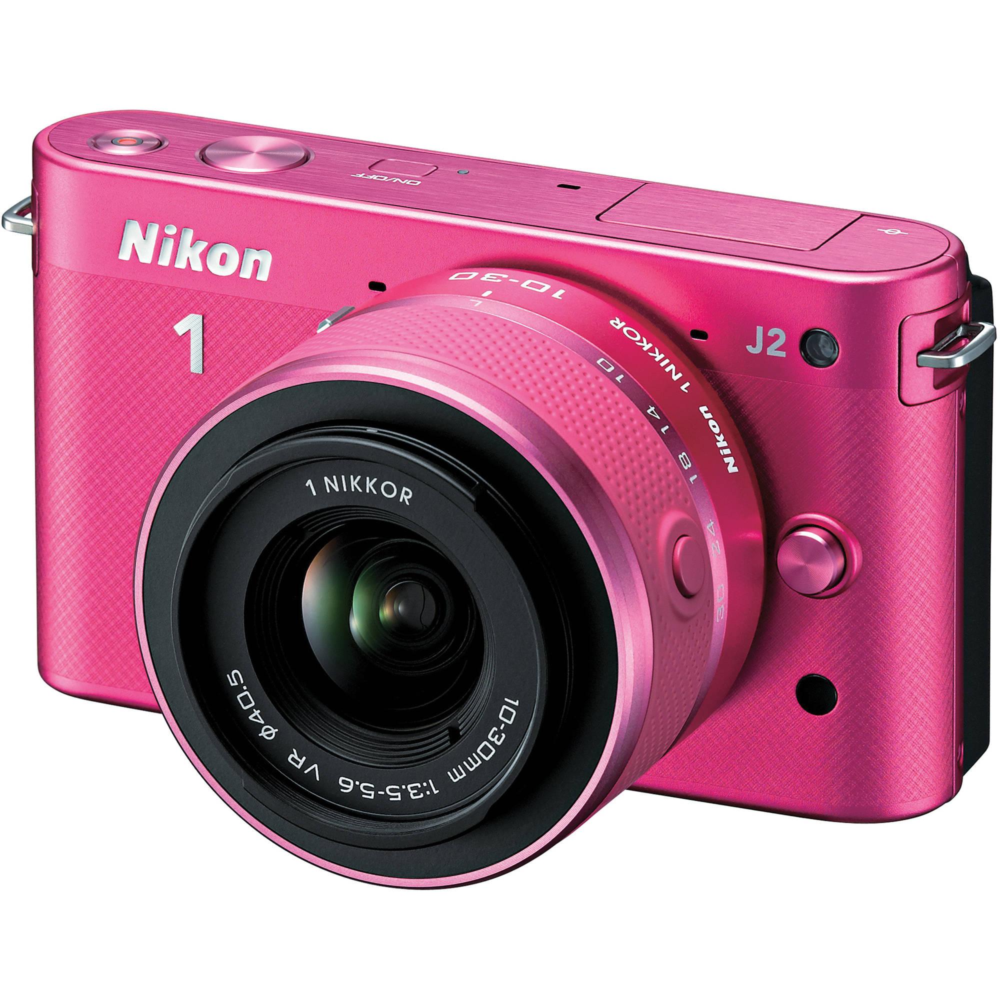 Nikon 1 J2 Mirrorless Digital Camera with 10-30mm VR Zoom