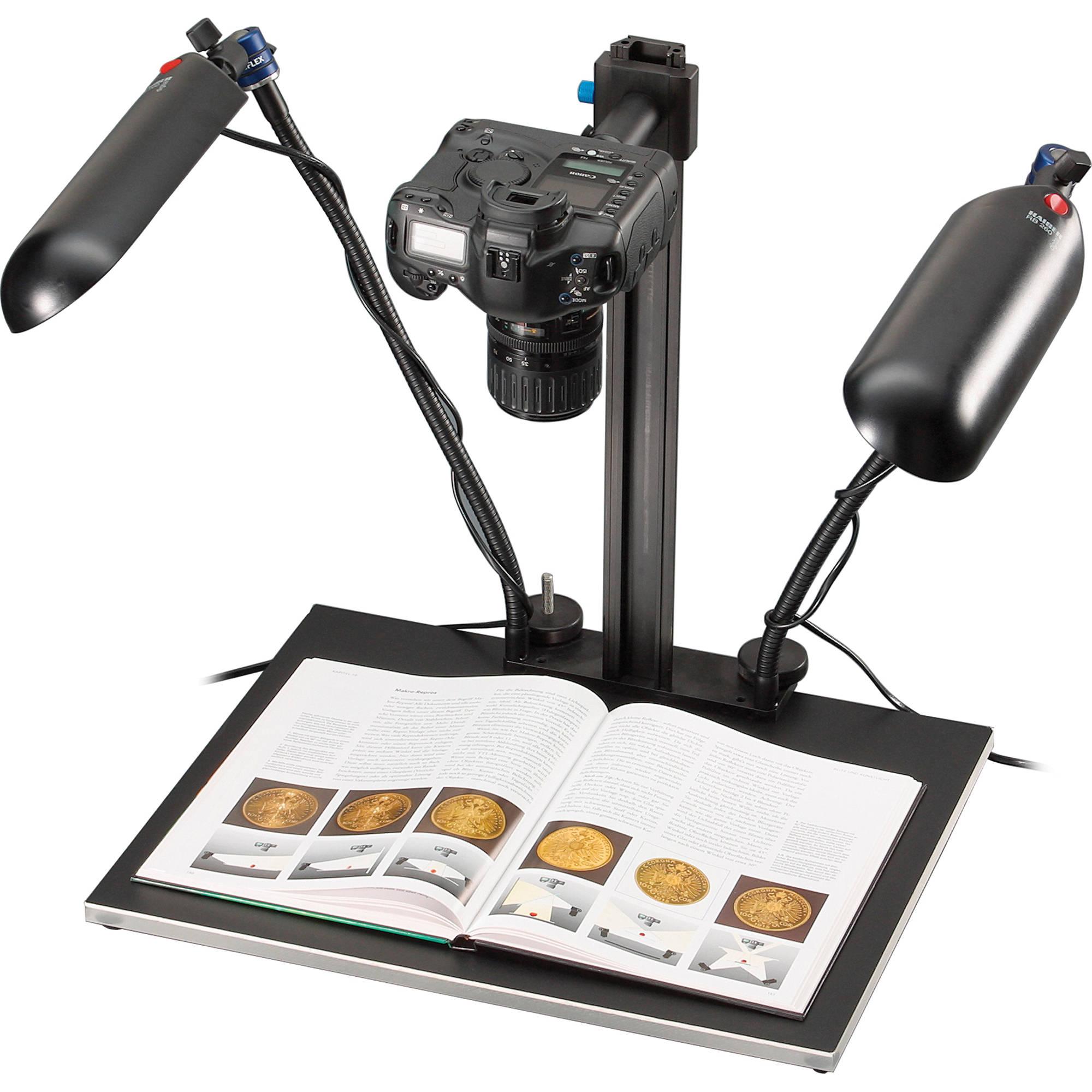 Novoflex Magic Studio Repro Copy Stand with MS MS-REPROSET ...