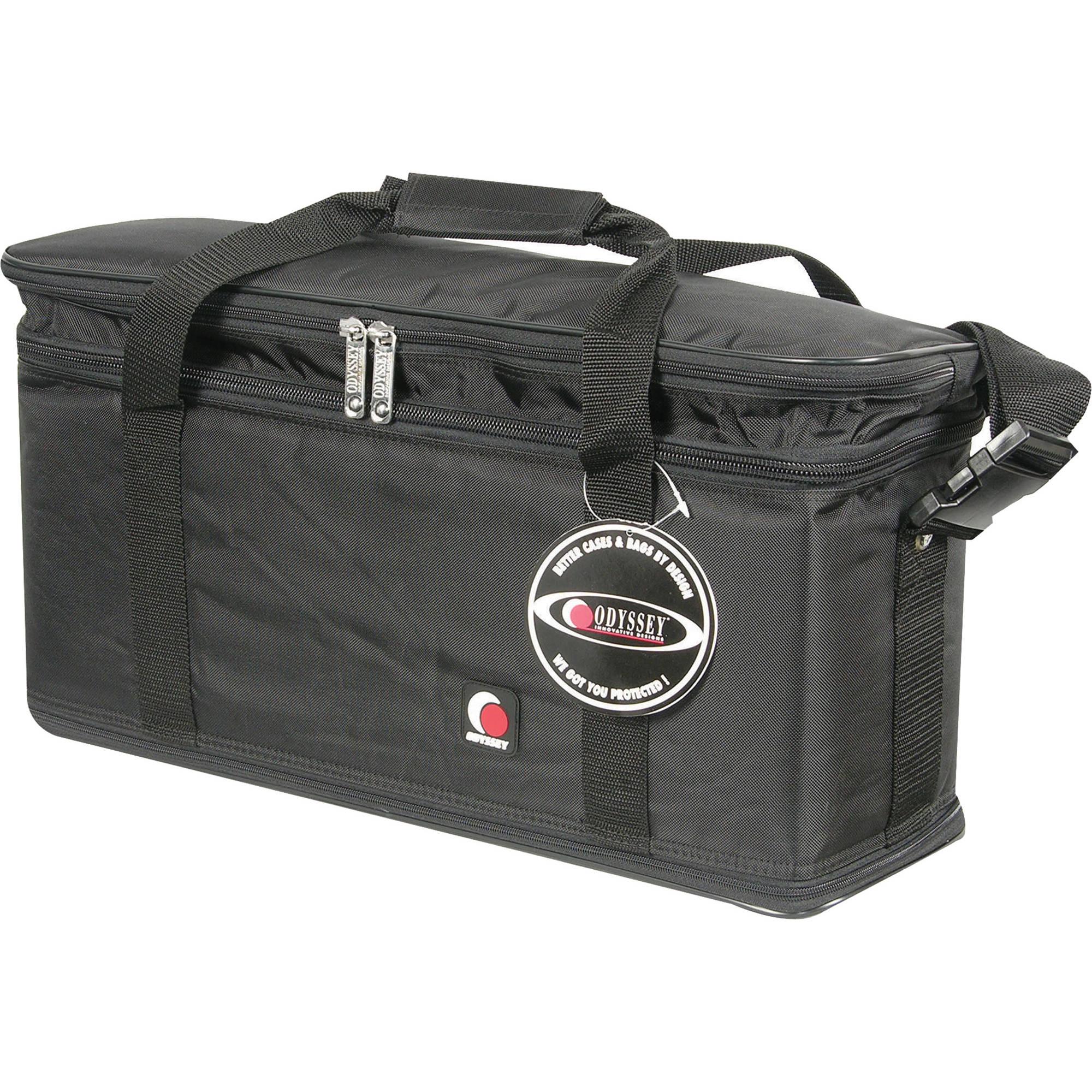 Odyssey Innovative Designs Br308 Bag Style Rack Case Black