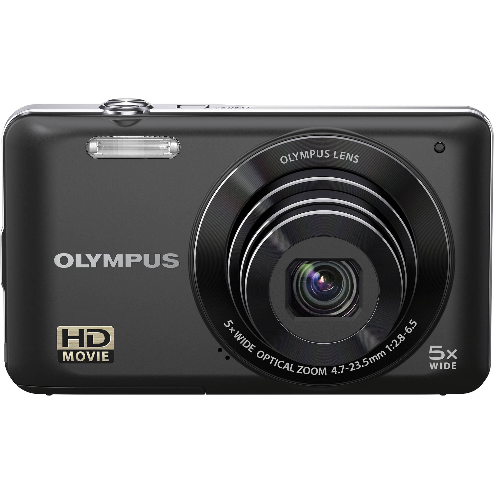 Olympus Digital Camera: Olympus VG-120 Digital Camera (Black) 228180 B&H Photo Video