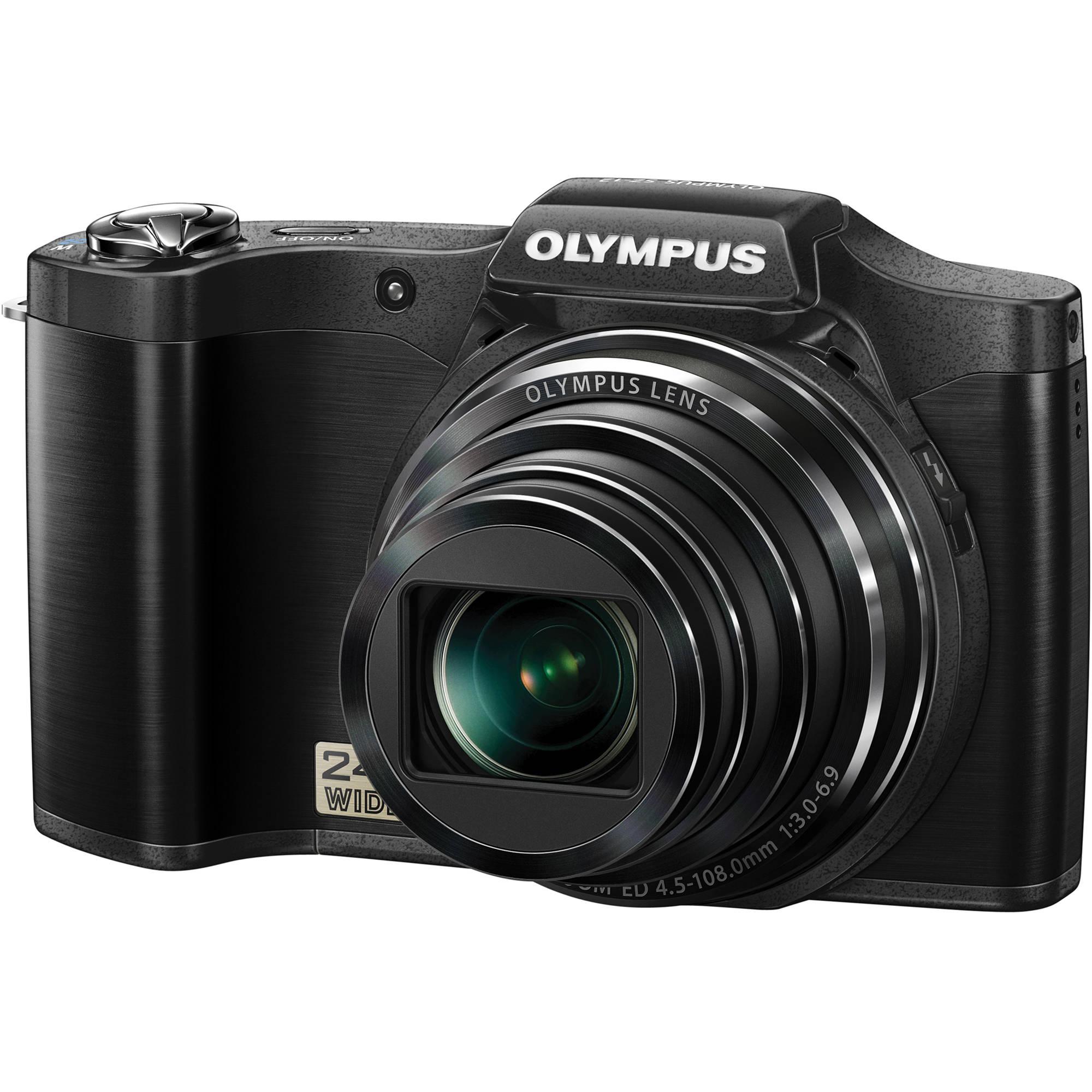 Olympus Digital Camera: Olympus SZ-12 Digital Camera (Black) V102081BU000 B&H Photo