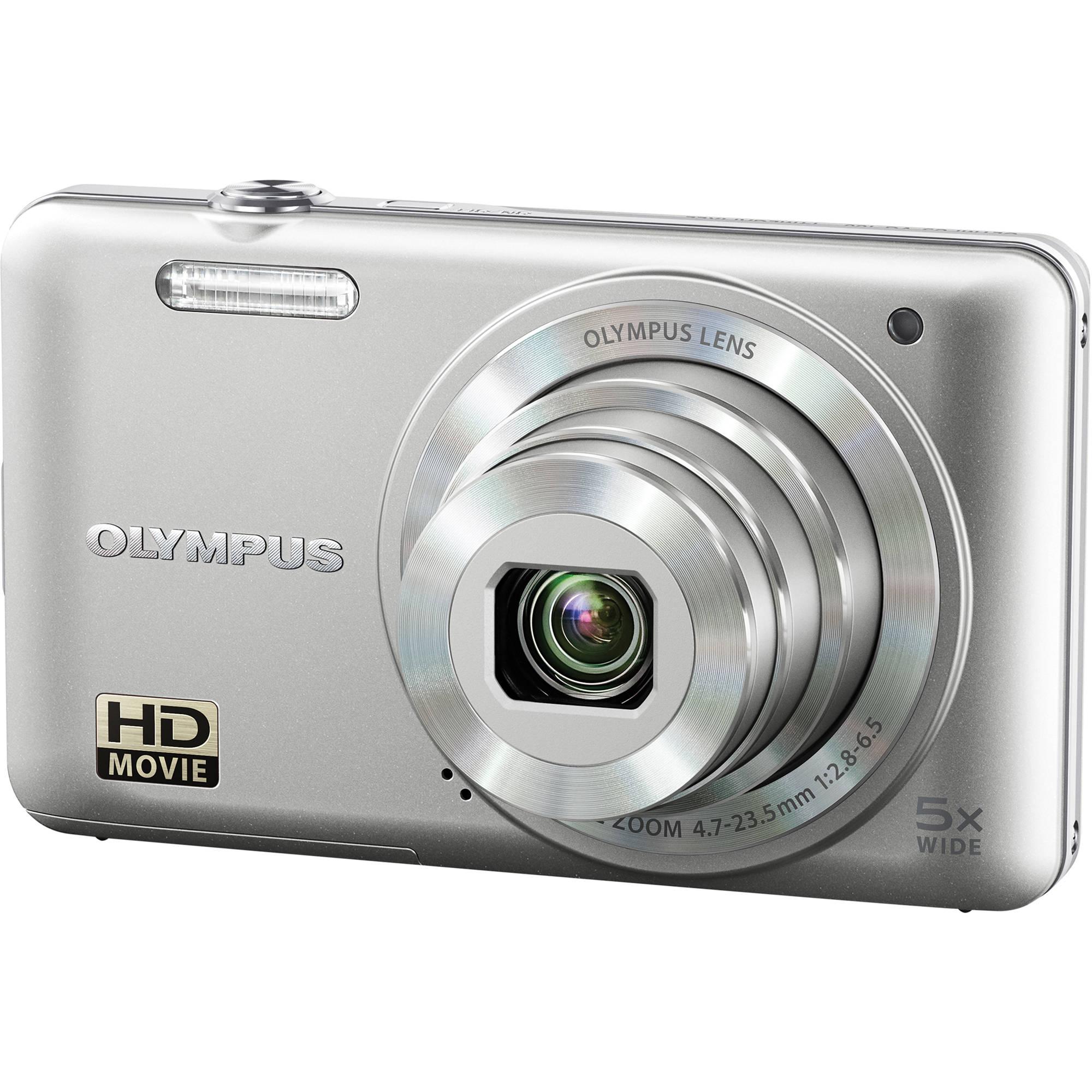 Olympus Digital Camera: Olympus VG-160 Digital Camera (Silver) V106050SU000 B&H Photo