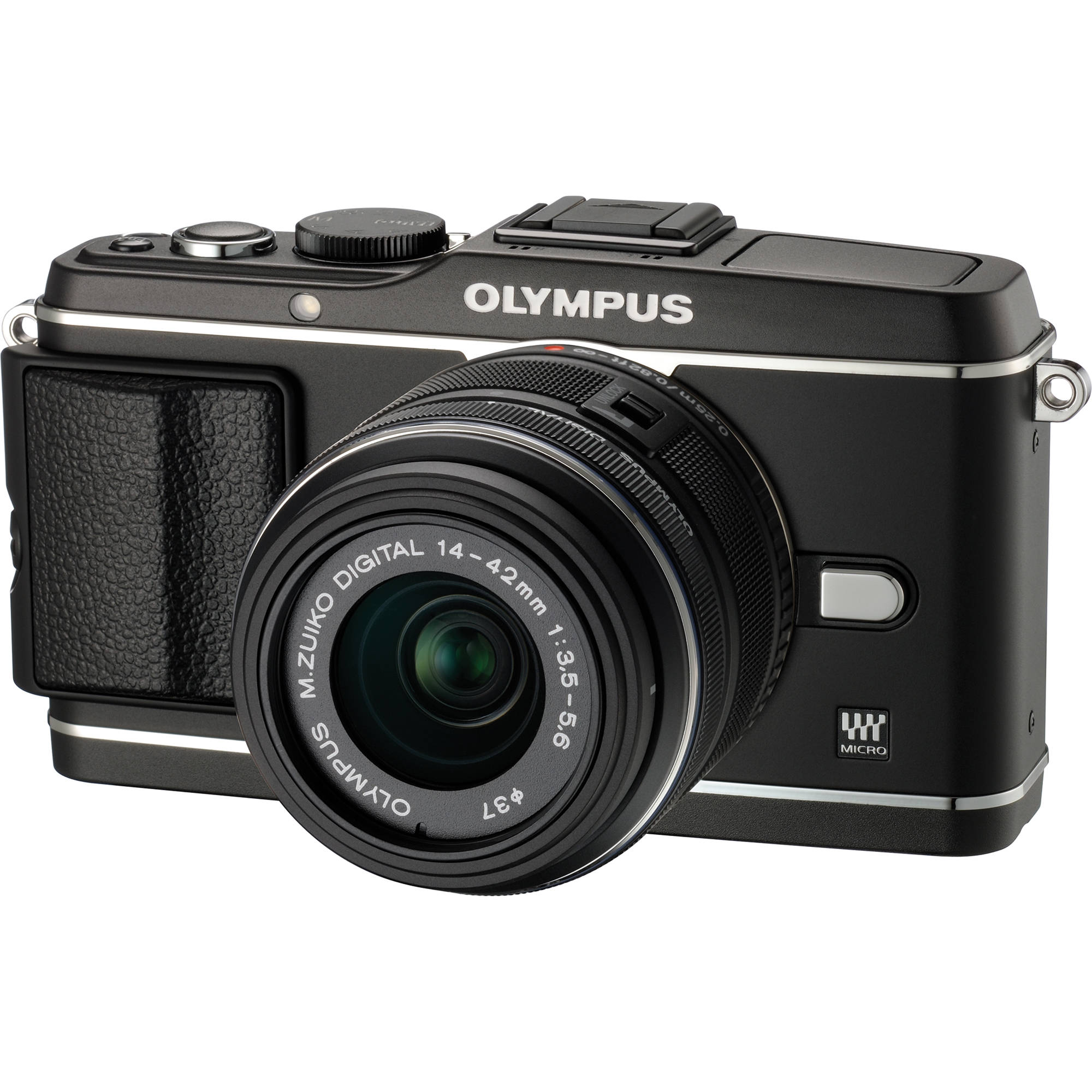 olympus e p3 pen digital camera with 14 42mm lens v204031bu000 rh bhphotovideo com Olympus PEN Camera Olympus PEN E-Pl7
