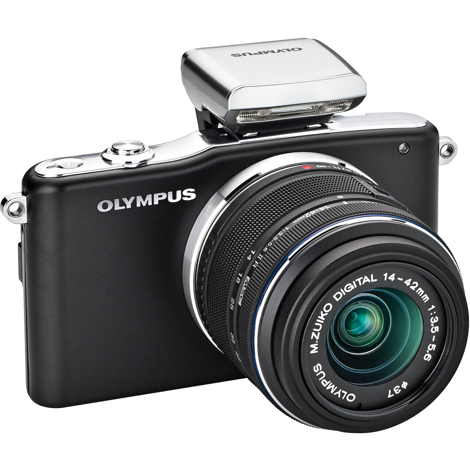 Olympus e pm1 mirrorless micro four thirds digital camera with 14 42mm