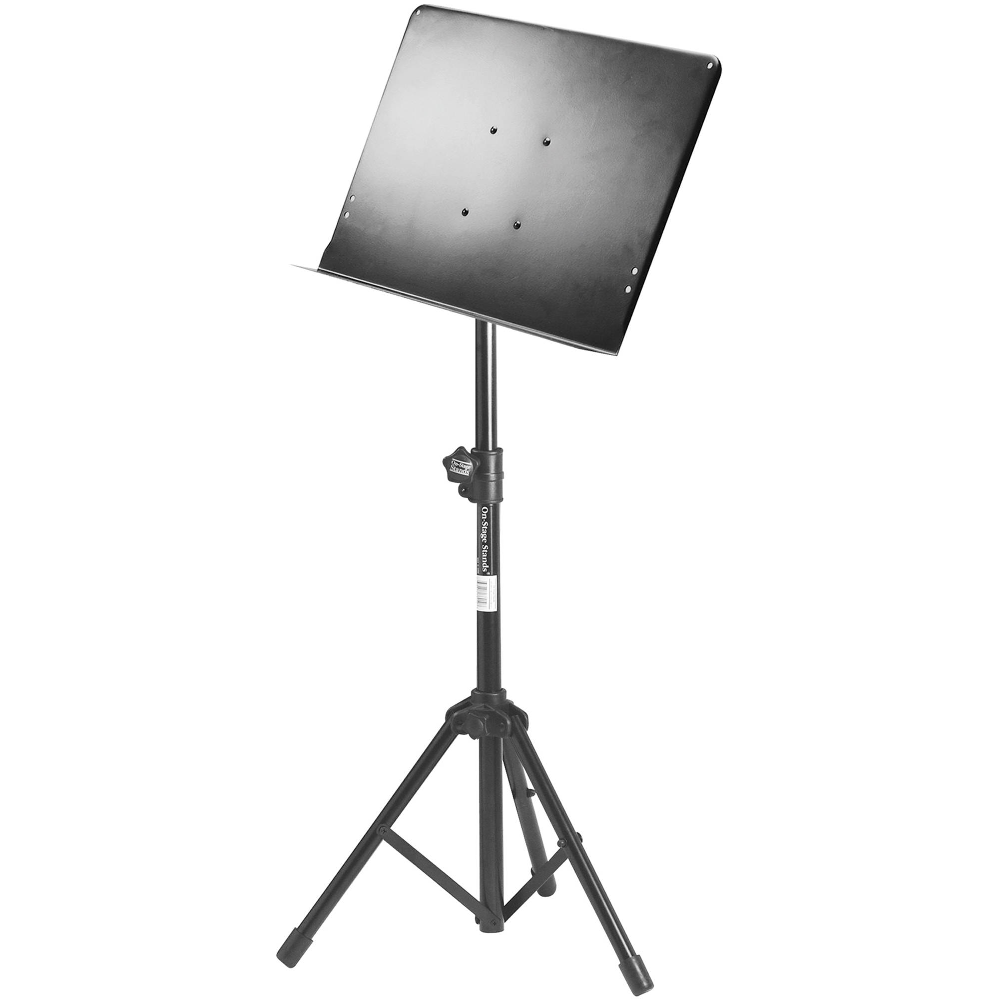 on stage conductor sheet music stand travel sm7211b b h photo. Black Bedroom Furniture Sets. Home Design Ideas