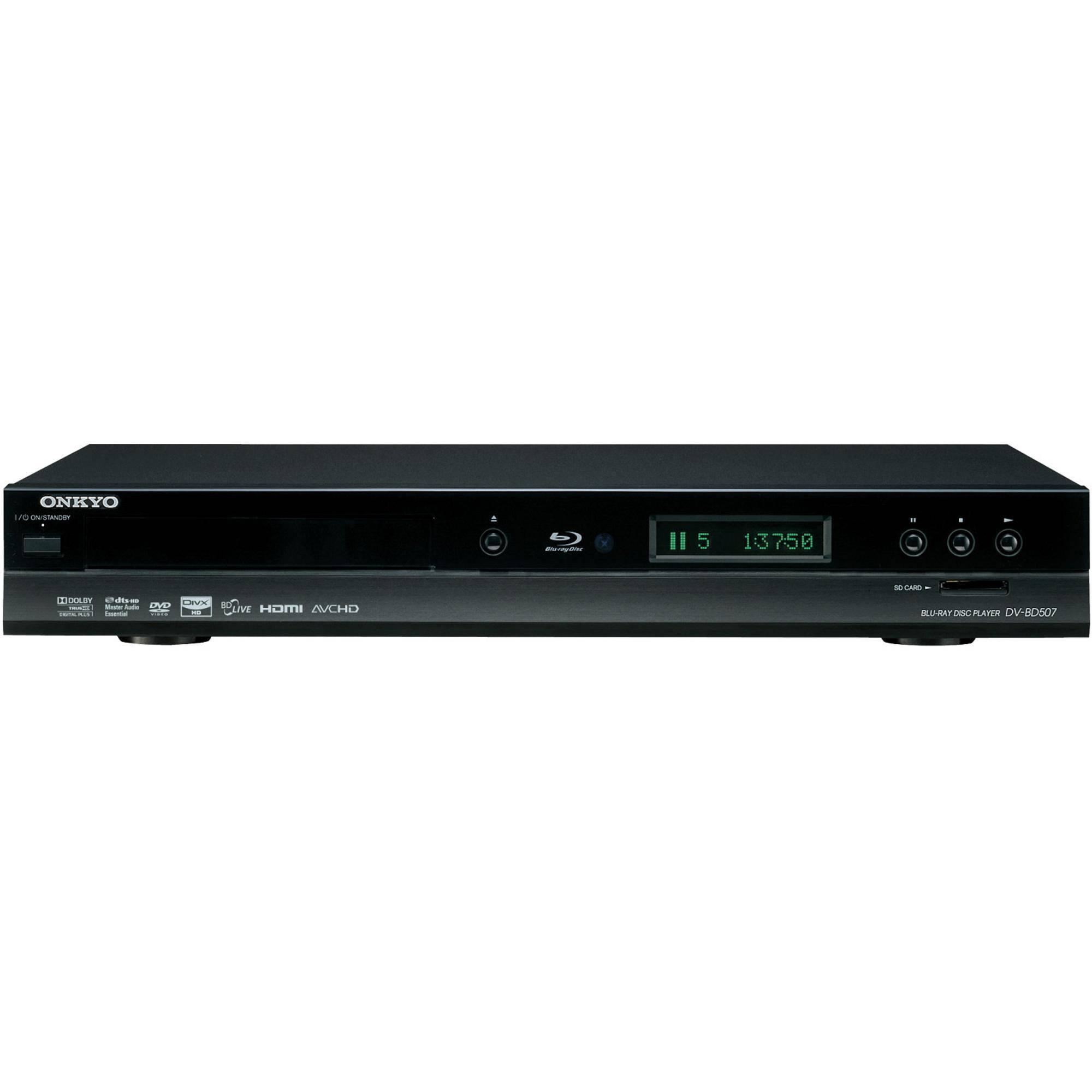 Onkyo DV-BD507 Blu-ray Disc Player DV-BD507 B&H Photo Video