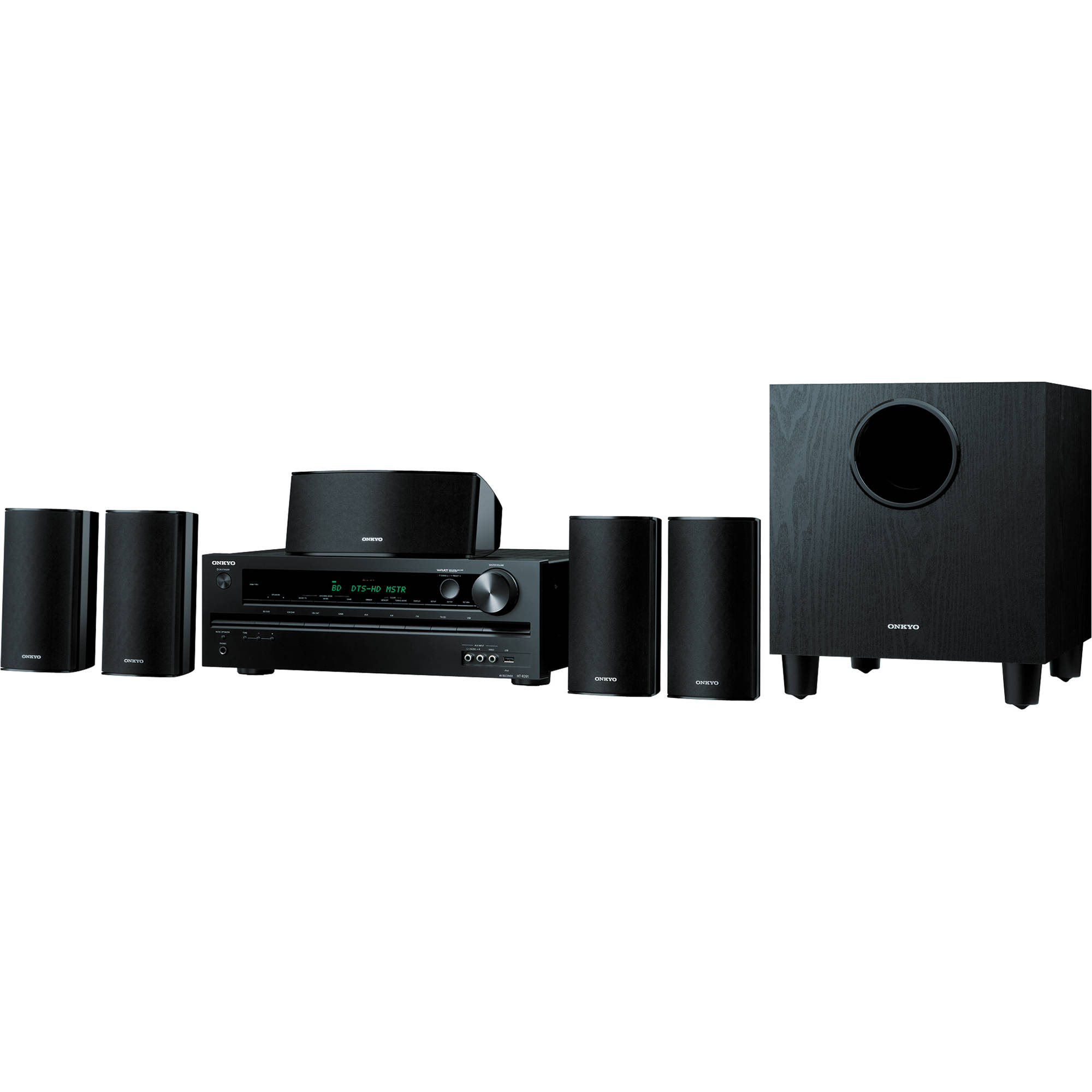 onkyo ht s3500 home theater package ht s3500 b h photo video. Black Bedroom Furniture Sets. Home Design Ideas