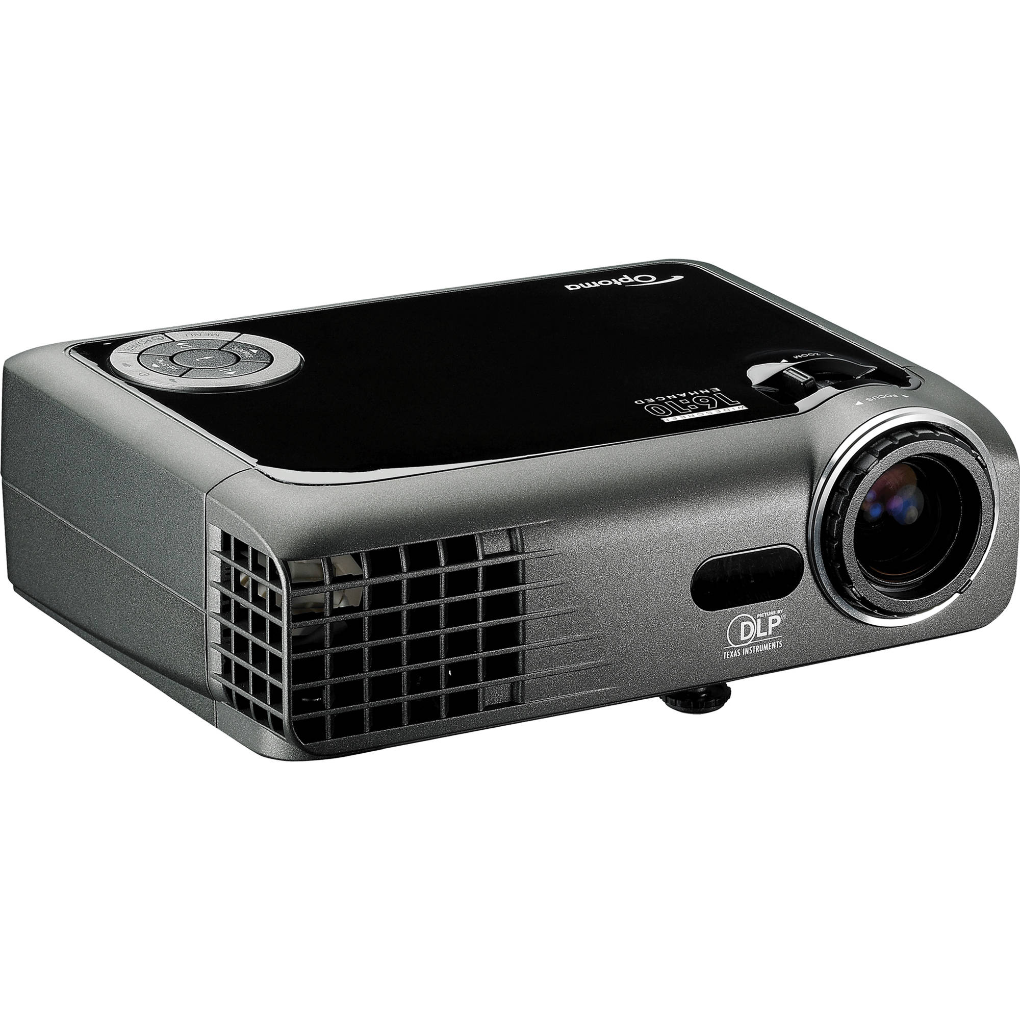Used optoma technology tx330 portable xga dlp eptx330rfba b h for Dlp portable projector