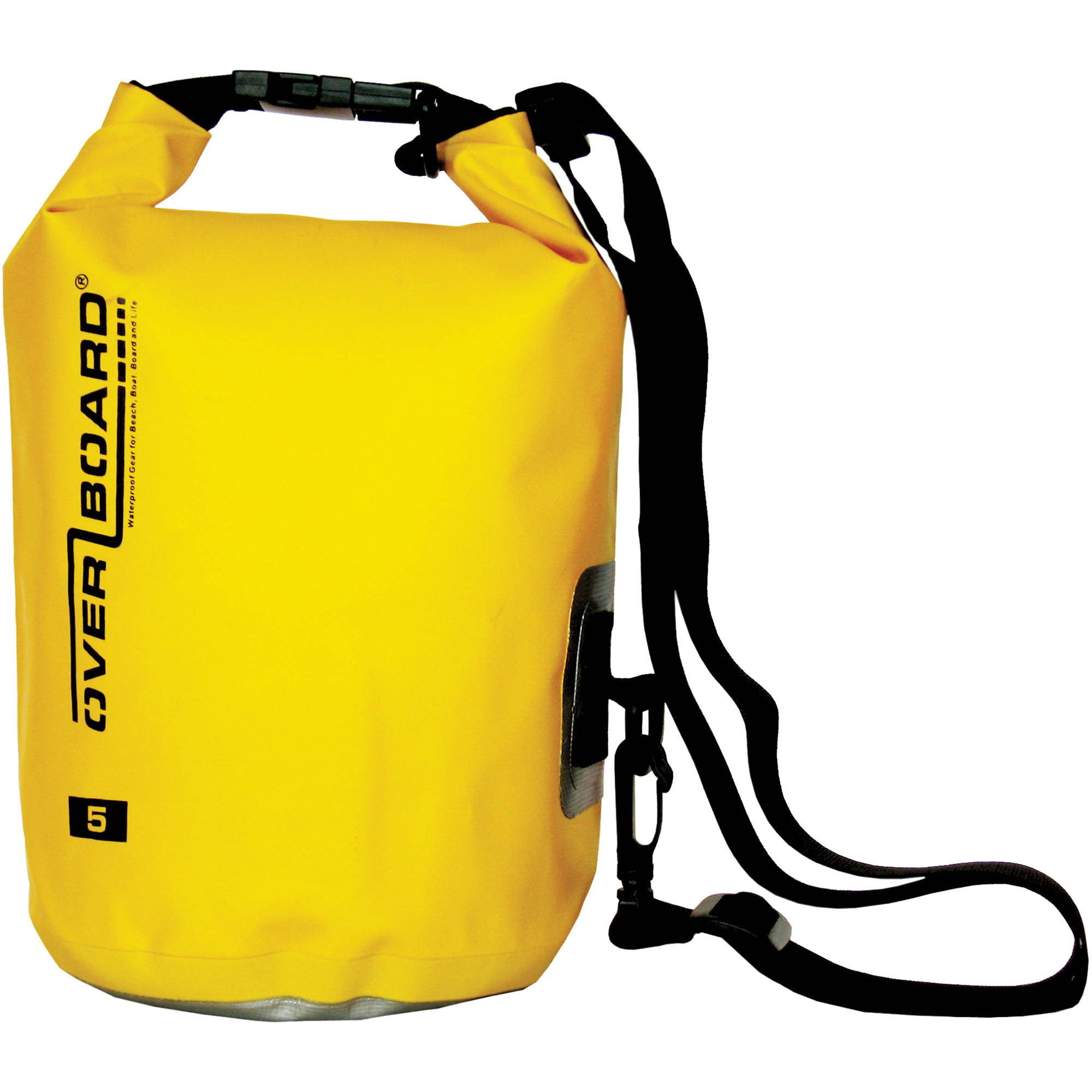 Overboard Waterproof Dry Bag 5l Yellow