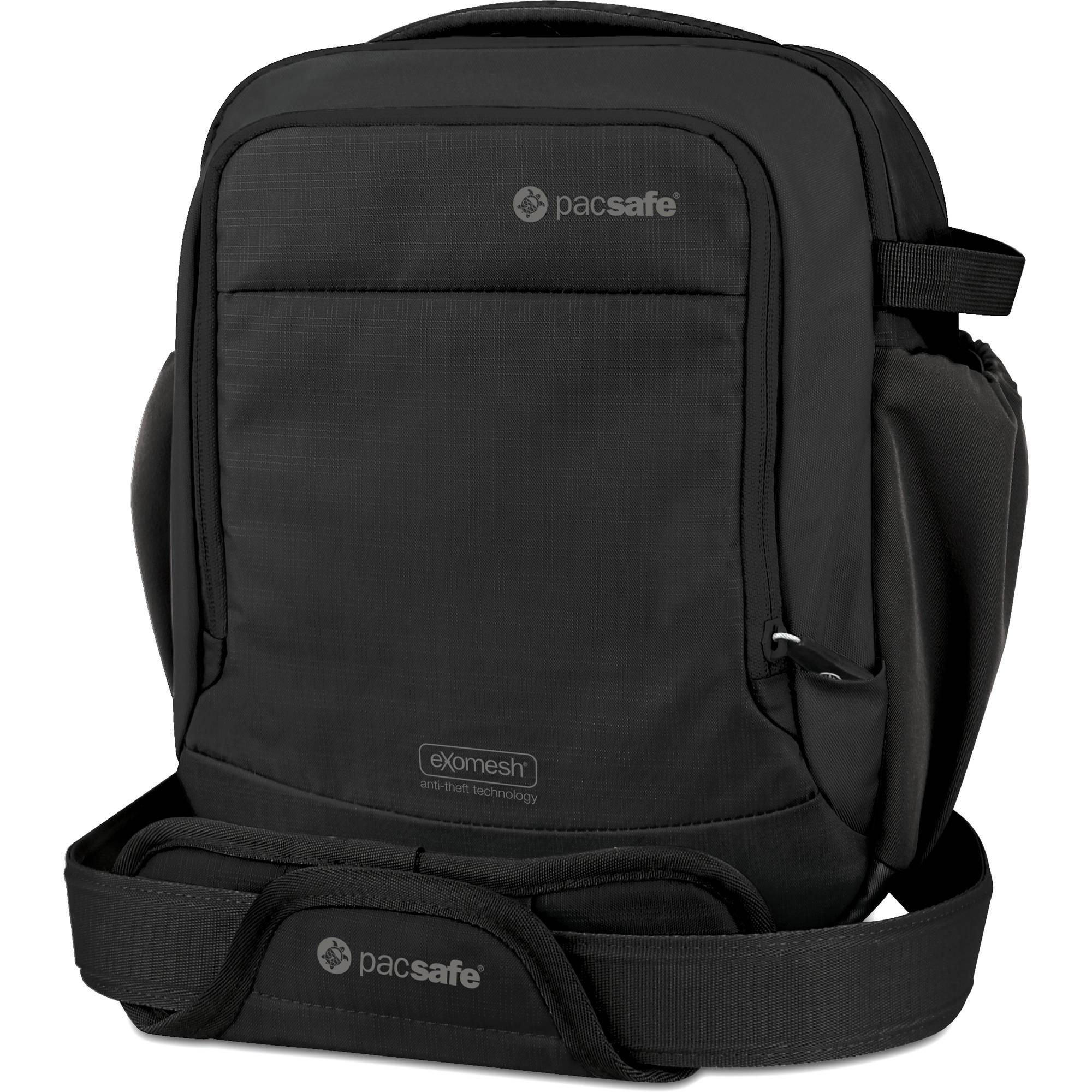 Pacsafe Camsafe V8 Anti Theft Camera Shoulder Bag Black