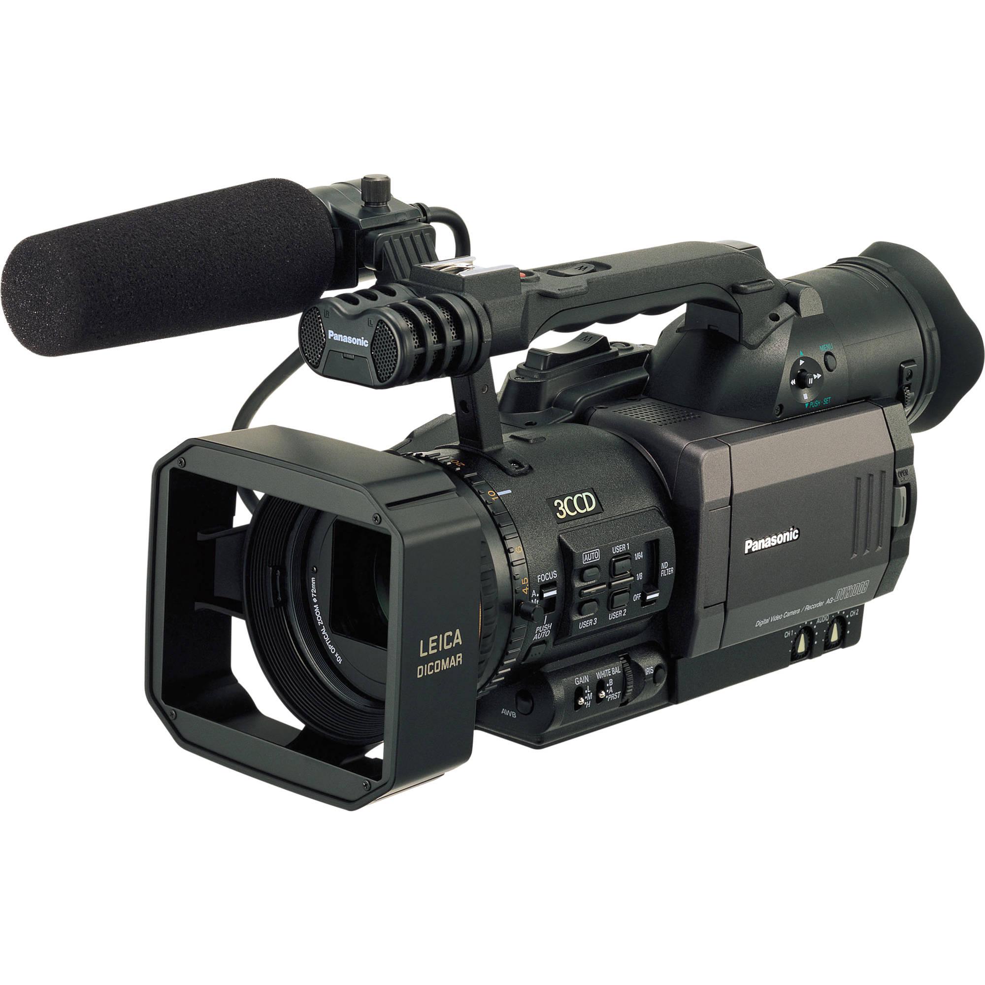 Panasonic AG-DVX100BE 3-CCD 25p Mini-DV Cinema AGDVX100BE B&H