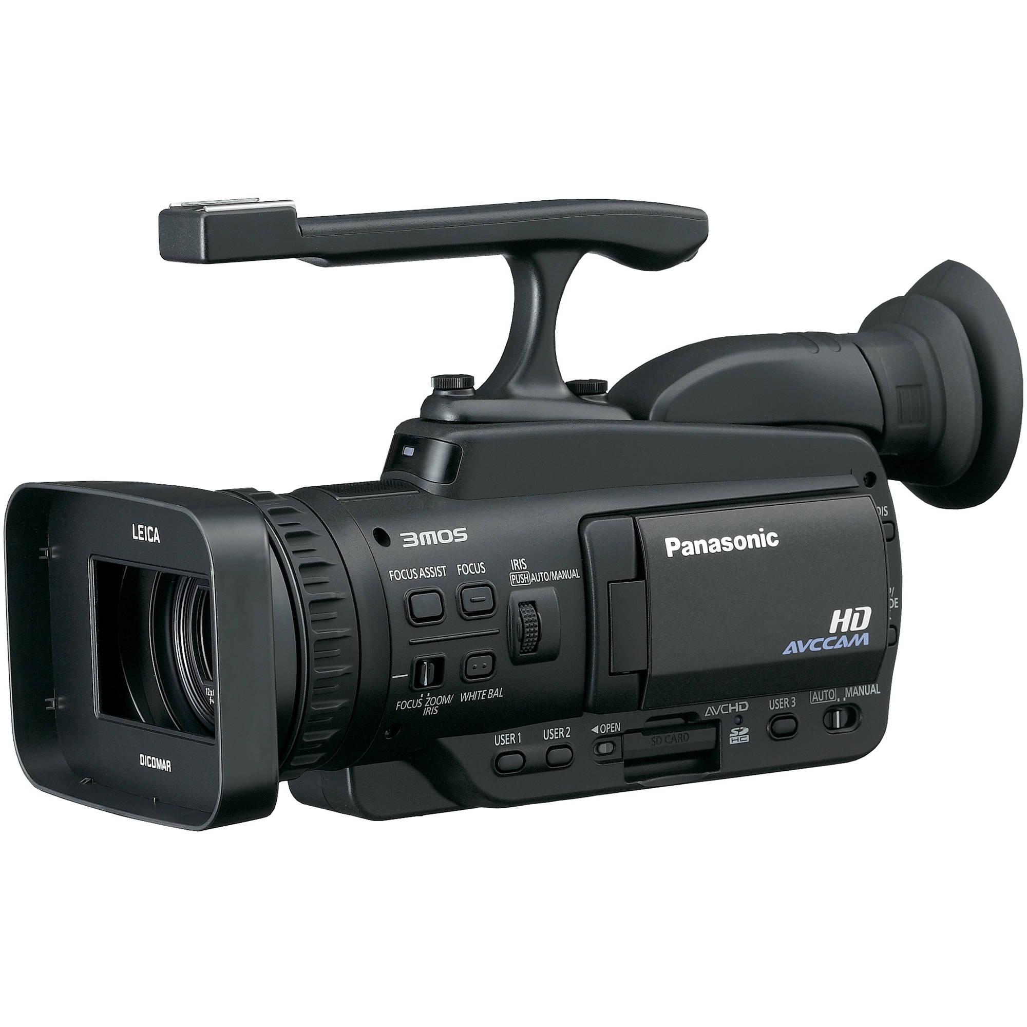 Panasonic AG-HMC42 AVCHD PAL Camcorder AG-HMC42E B&H Photo ...
