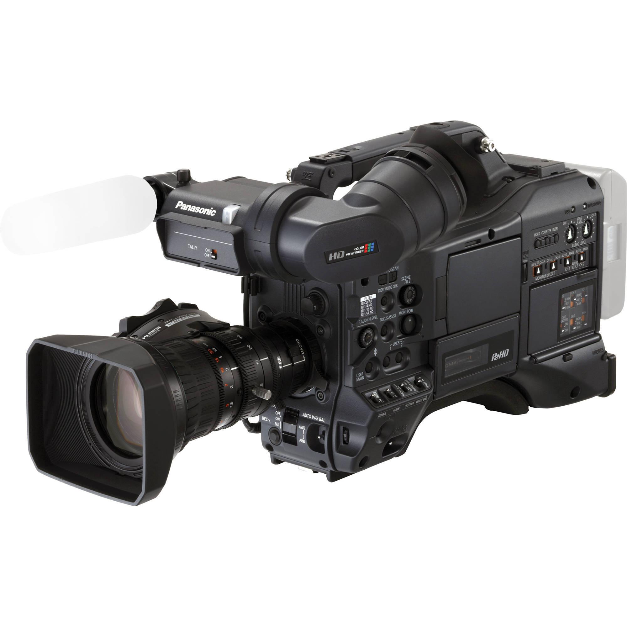 Panasonic AG-HPX370 Series P2 HD Camcorder AGHPX370PJ B&H Photo