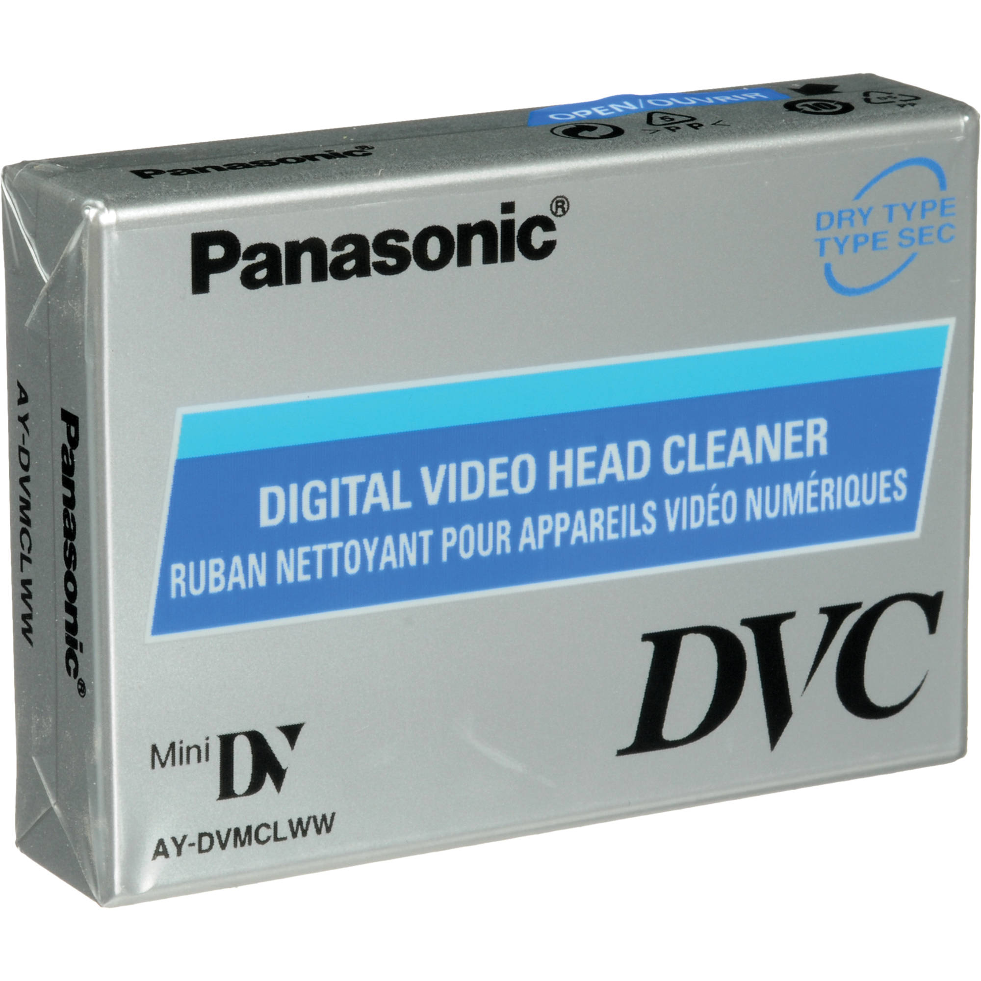 Panasonic AY-DVMCLWW Mini DVCAM/ DV/ HDV Compatible Cleaning Cassette
