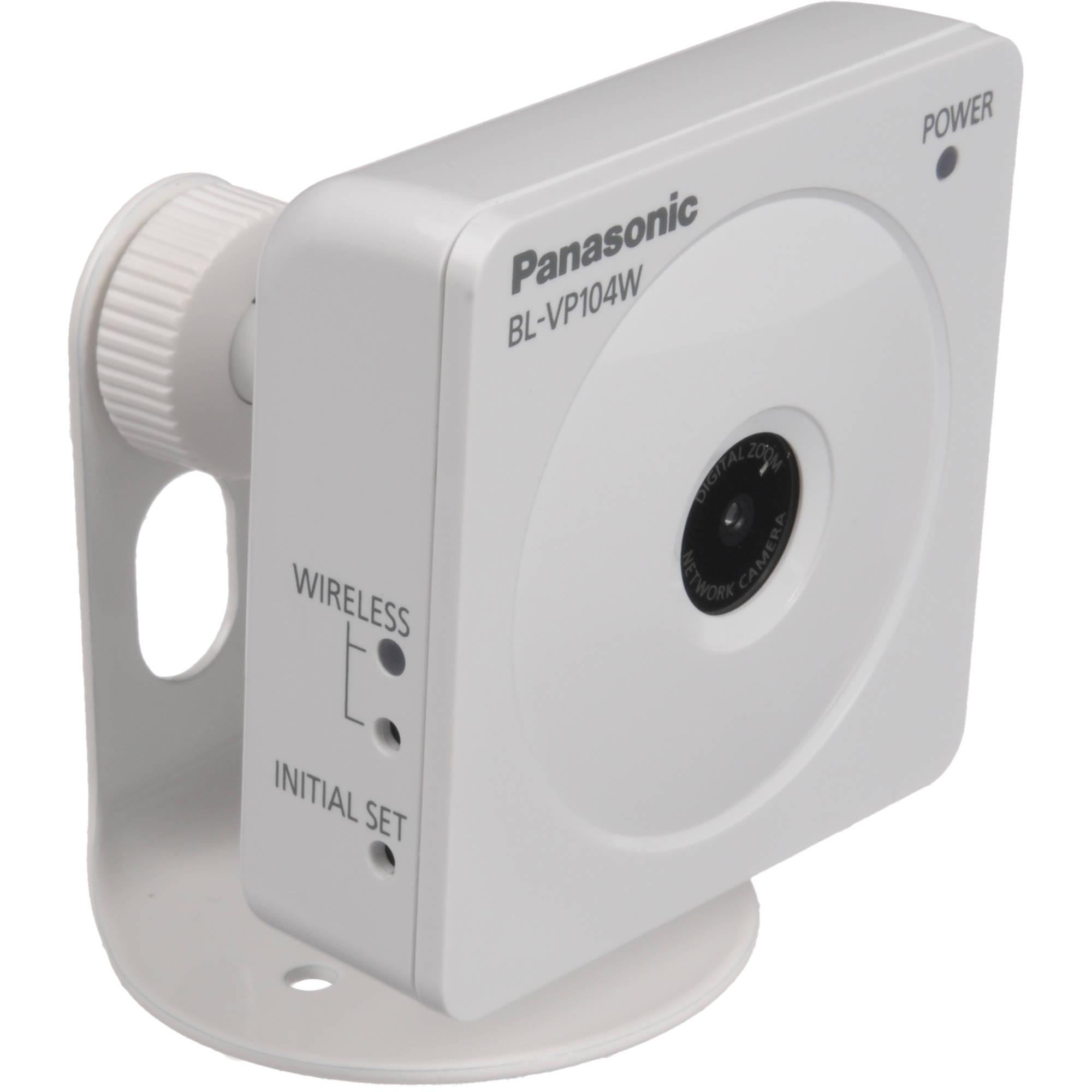 Driver for Panasonic BL-VP104 Network Camera