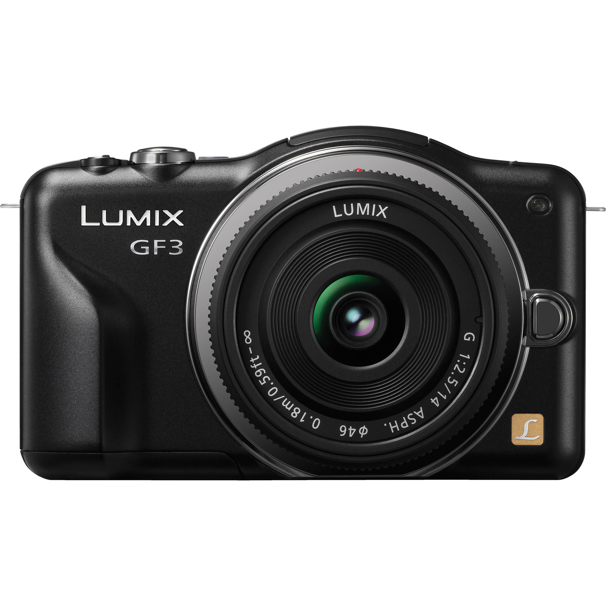 panasonic lumix dmc gf3 digital camera with 14mm lens dmc gf3ck rh bhphotovideo com