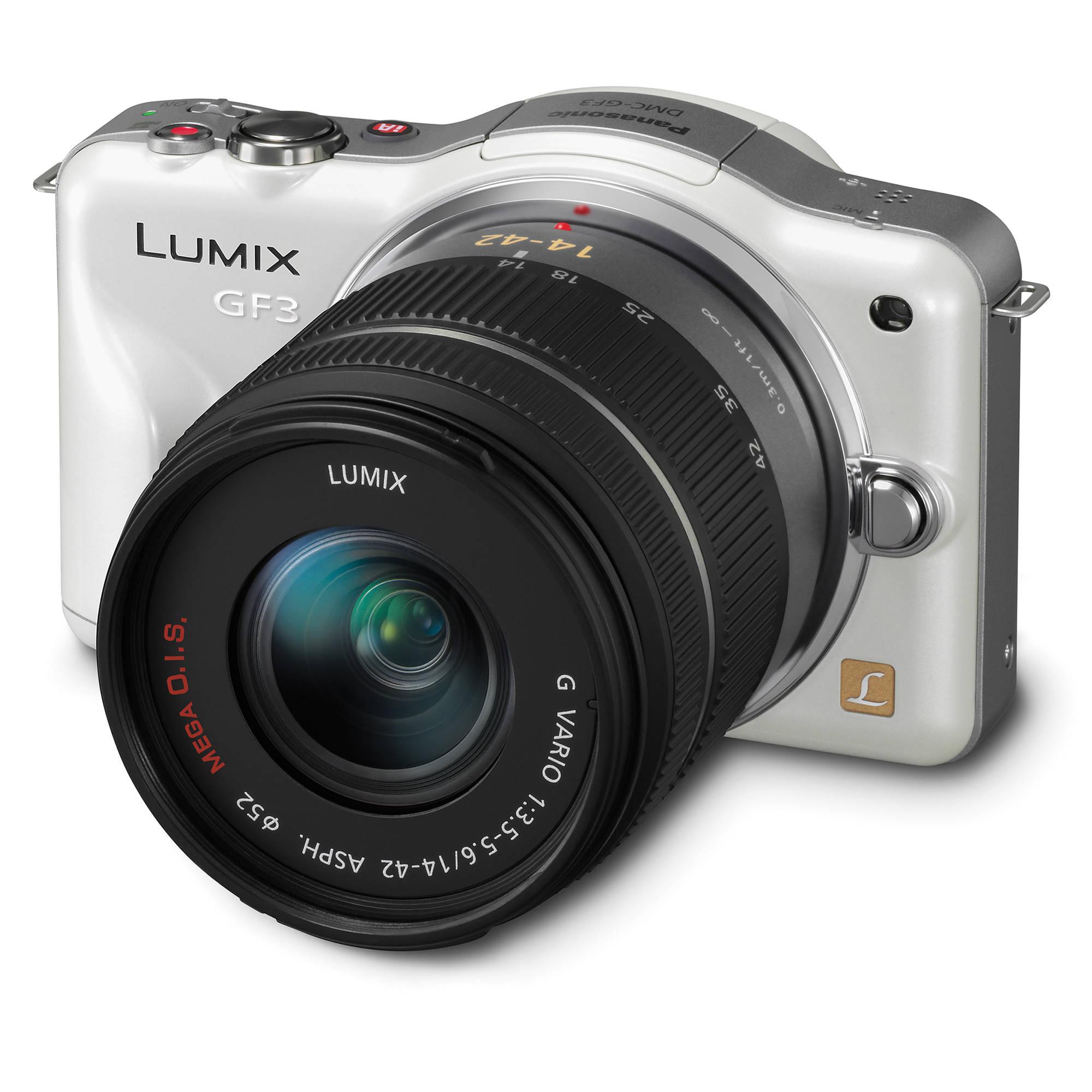 panasonic lumix dmc gf3 digital camera with 14 42mm dmc gf3kw rh bhphotovideo com panasonic lumix dmc-gf3 user manual panasonic dmc g3 user manual