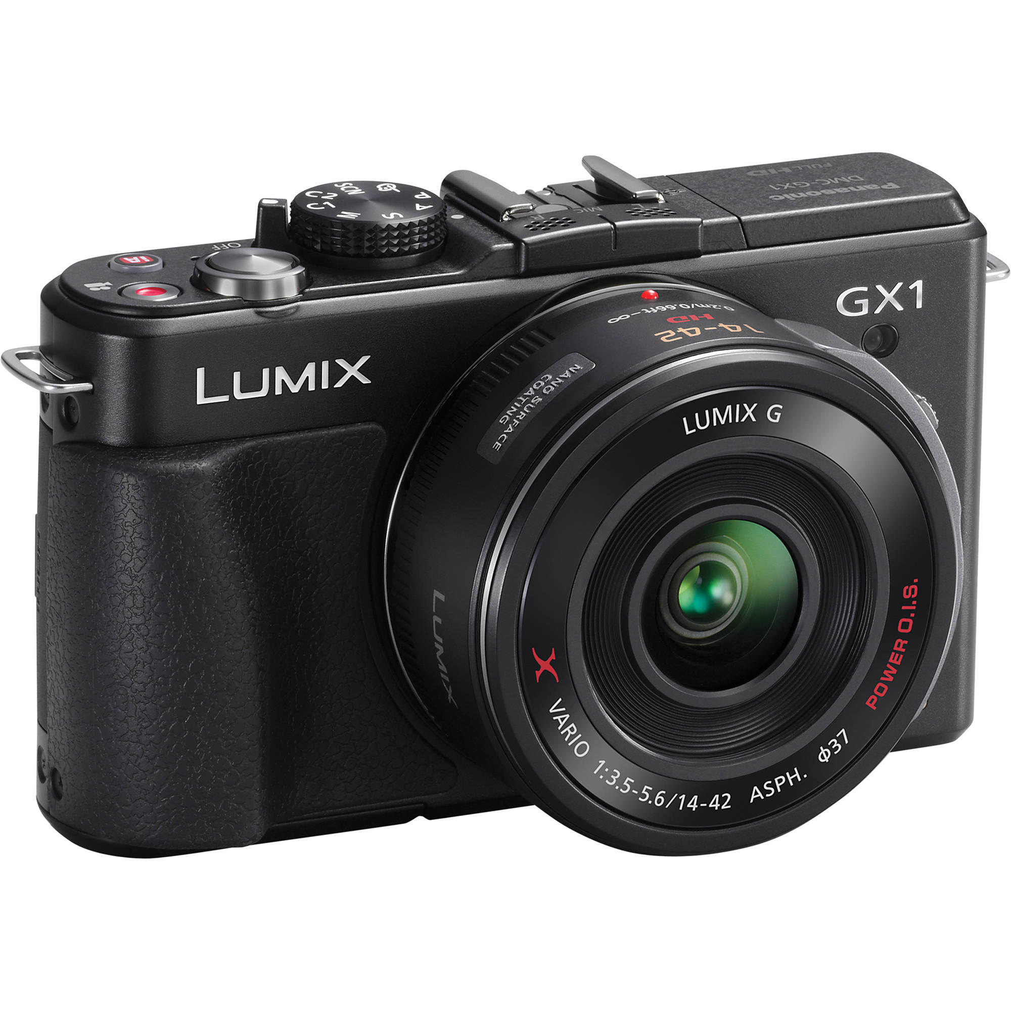 panasonic lumix dmc gx1 mirrorless micro four thirds dmc gx1xk rh bhphotovideo com Panasonic Lumix G1 Panasonic GX7