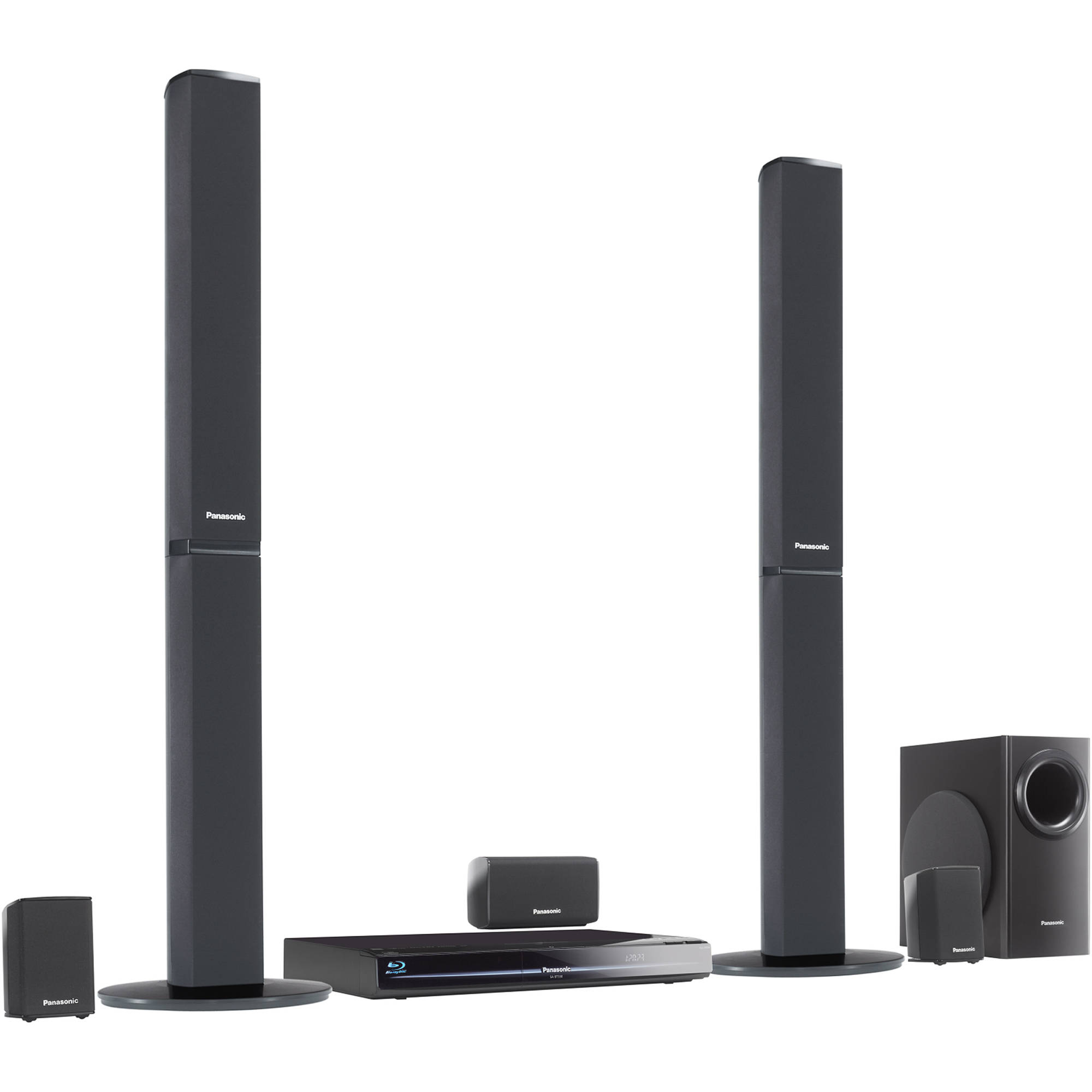 Panasonic Wireless Surround Sound Systems Wire Center Gsm Gps Circuit Board Assemblygsm Sc Bt330 Blu Ray Home Theater System B H Rh Bhphotovideo Com