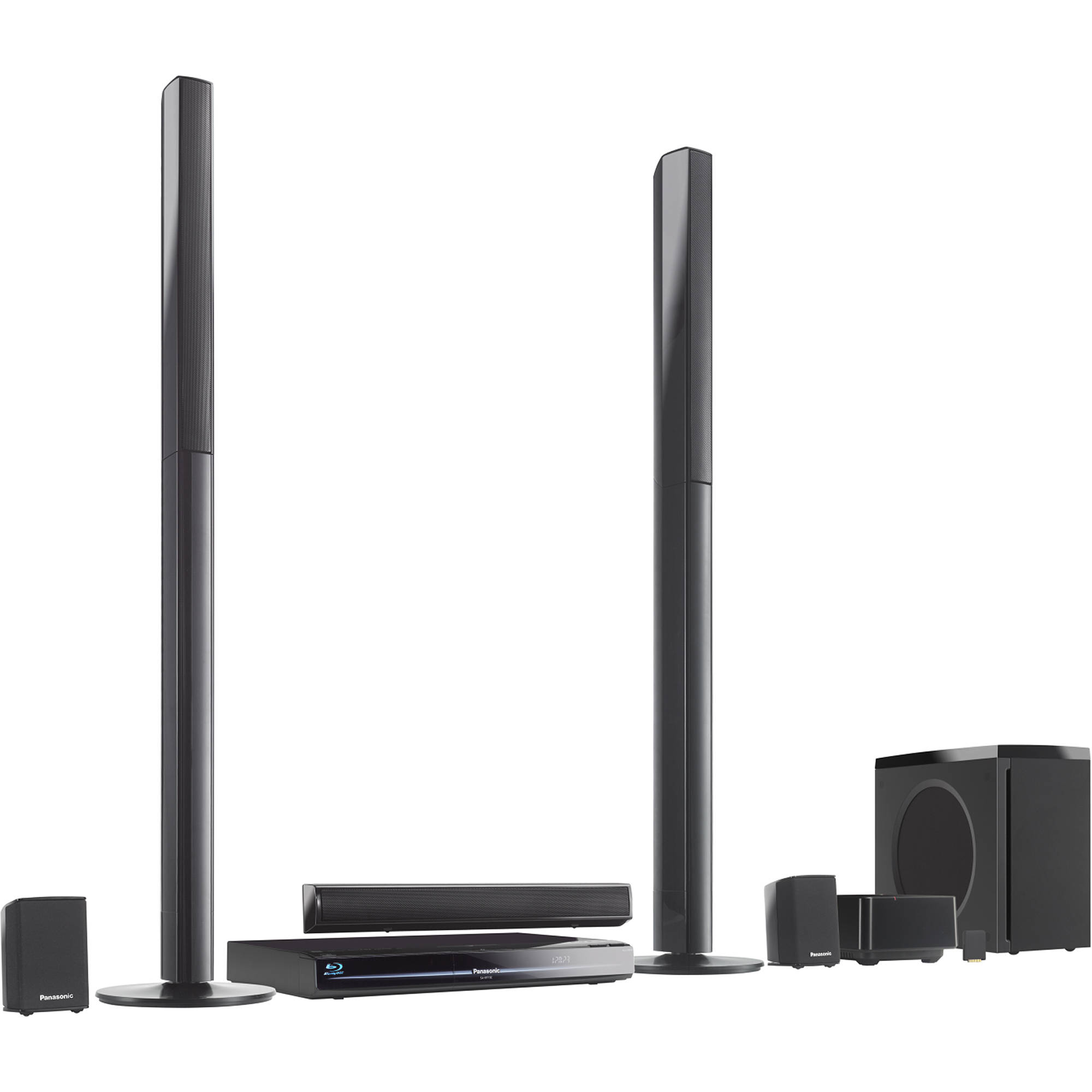 panasonic sc bt730 blu ray home theater system sc bt730 b h. Black Bedroom Furniture Sets. Home Design Ideas