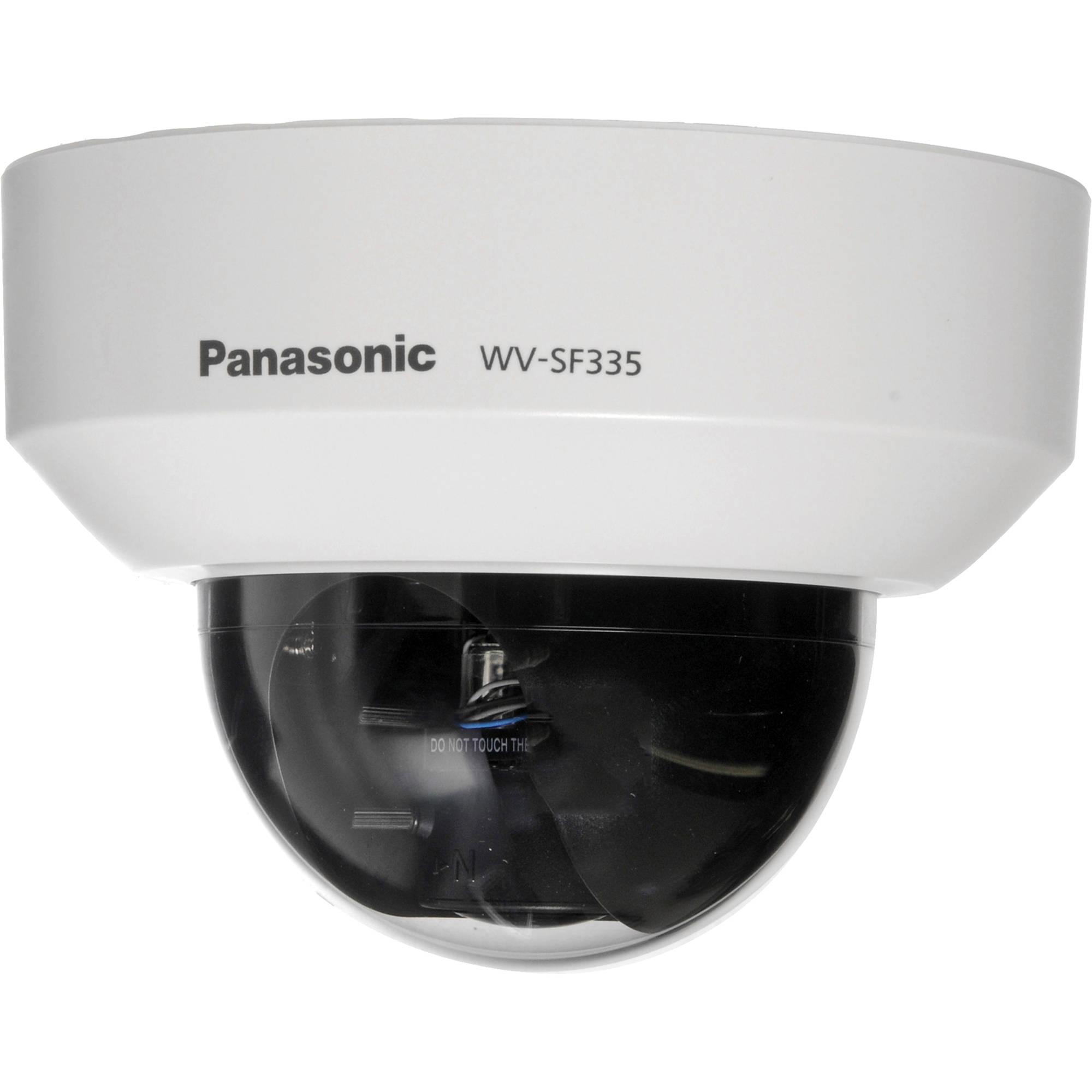 Panasonic Wv Sf335 H264 Fixed Dome Hd Network Camera Wv Sf335