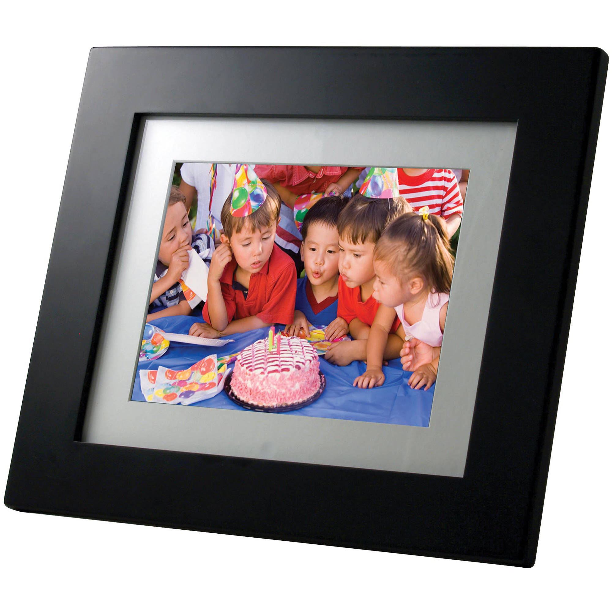 Pandigital 120 Lcd Digital Photo Frame Pan1251 Bh Photo