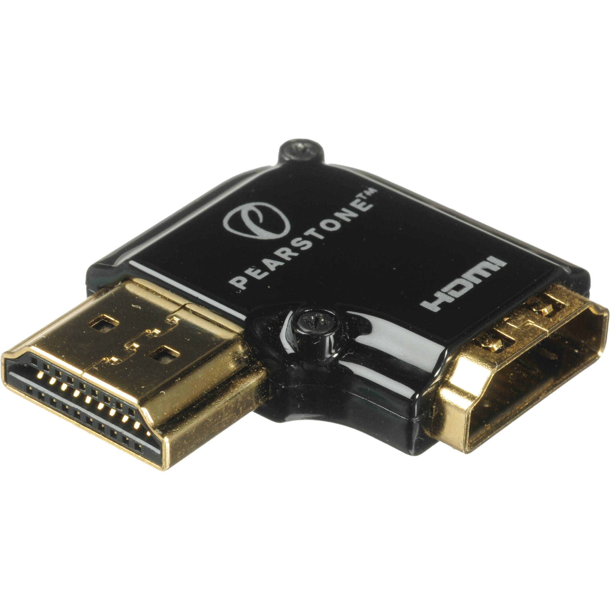 Pearstone Hdmi 90 Degree Adapter Vertical Flat Left Hd Aslv