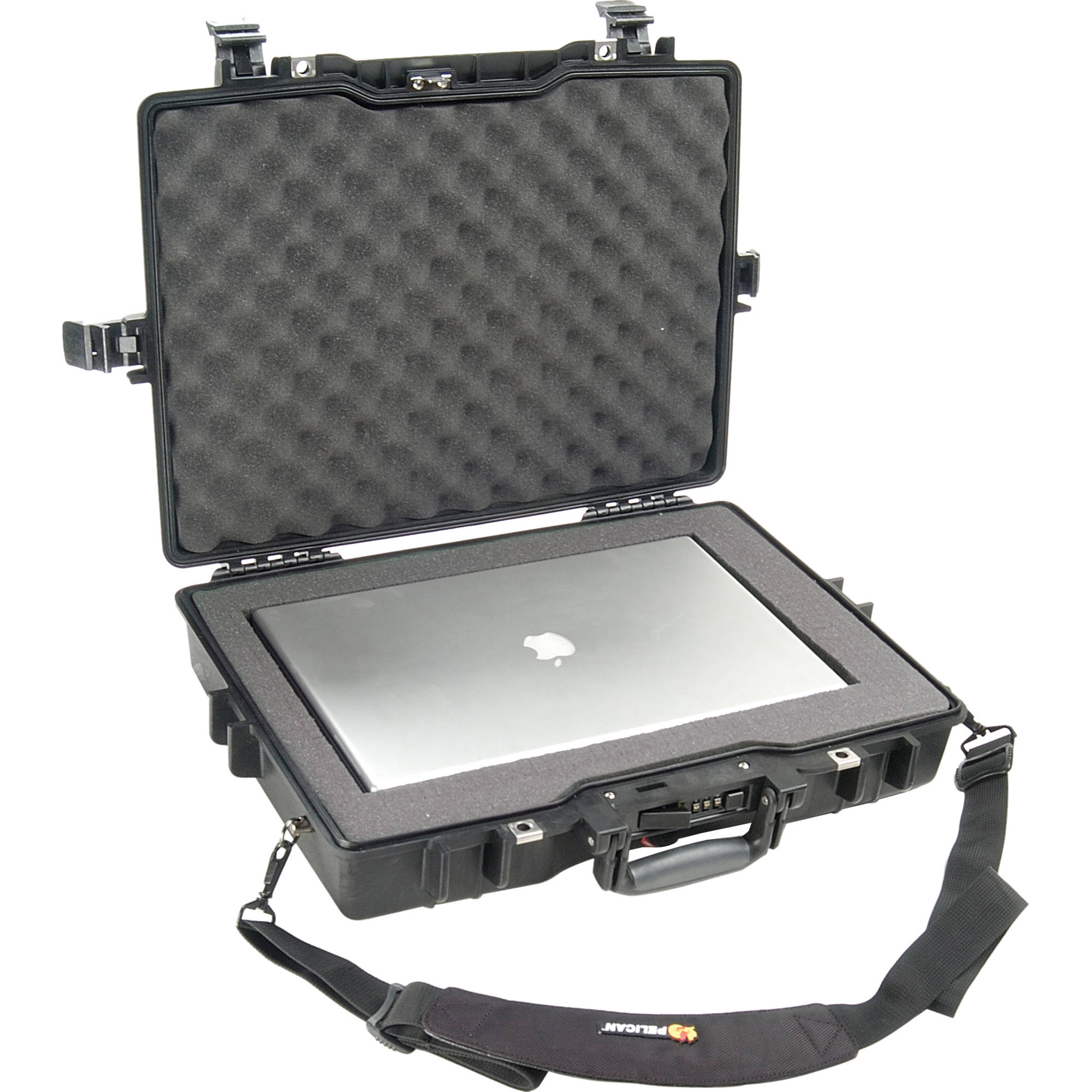 Pelican1495 Laptop Computer Case with Foam (Black) 4daebd55e