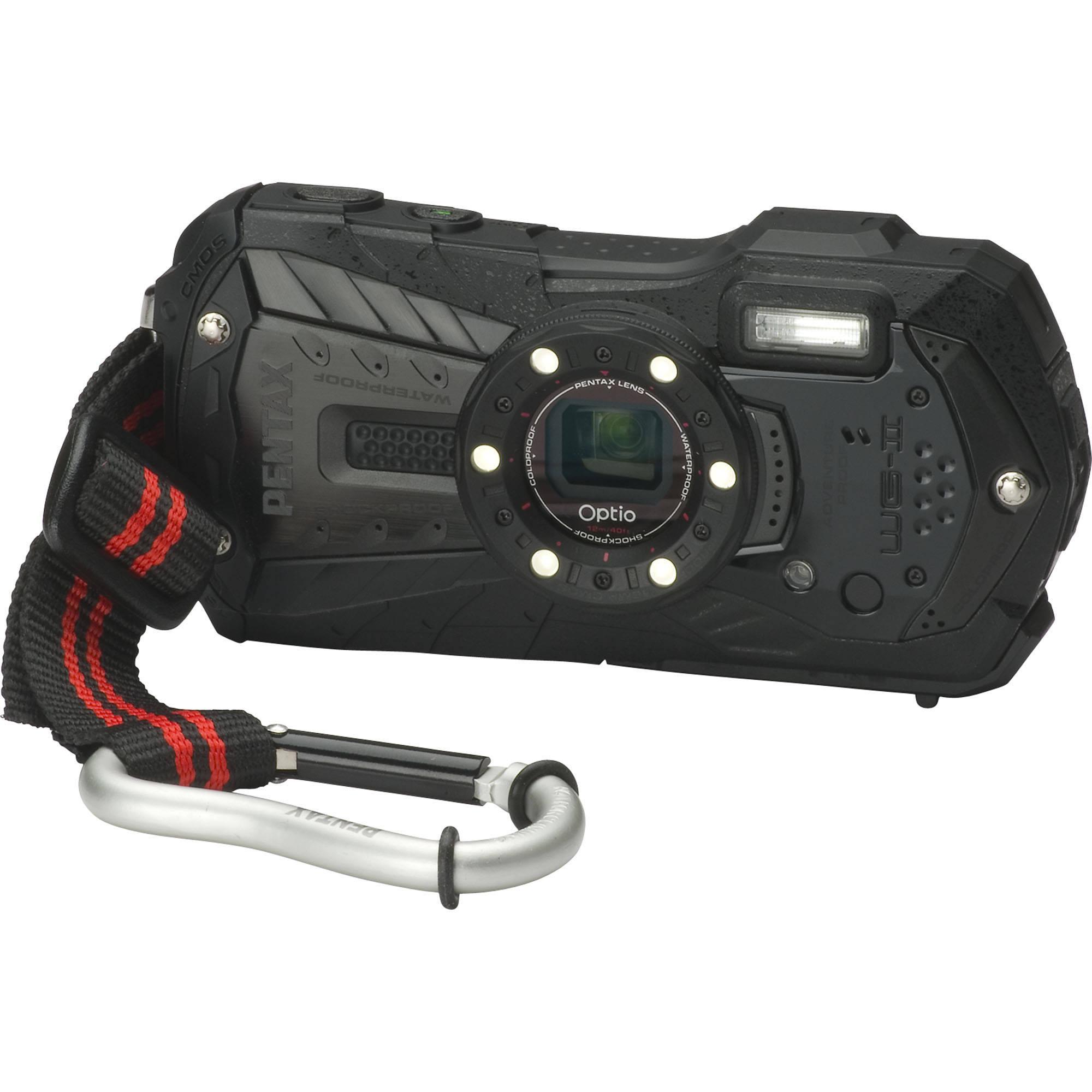 pentax optio wg 2 digital camera black 15471 b h photo video rh bhphotovideo com Pentax Optio WG-2 Charger Battery Pentax Optio WG-2