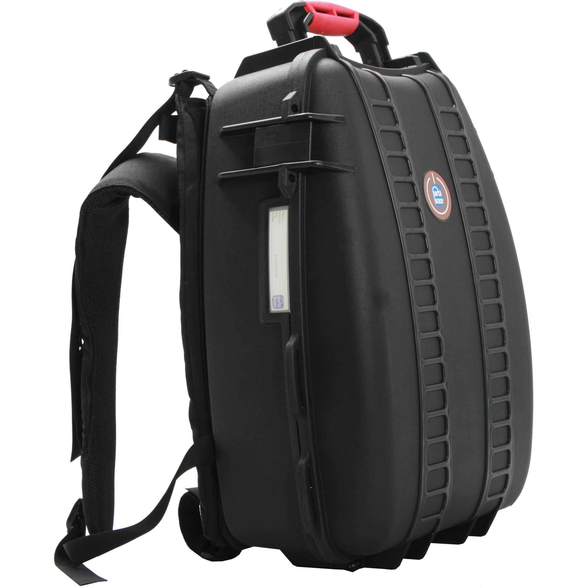 Porta Brace PB-3500E Hard Case Backpack (Black) PB-3500E B&H